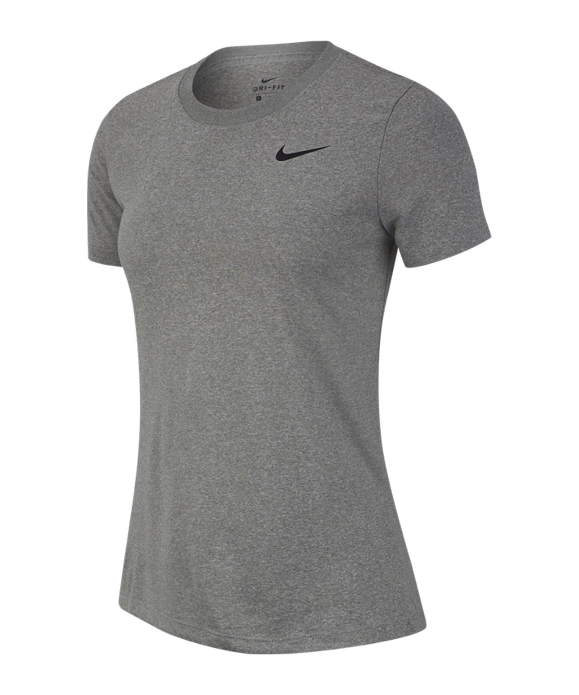 Nike Legend Crew T-Shirt Training Damen F063 - grau