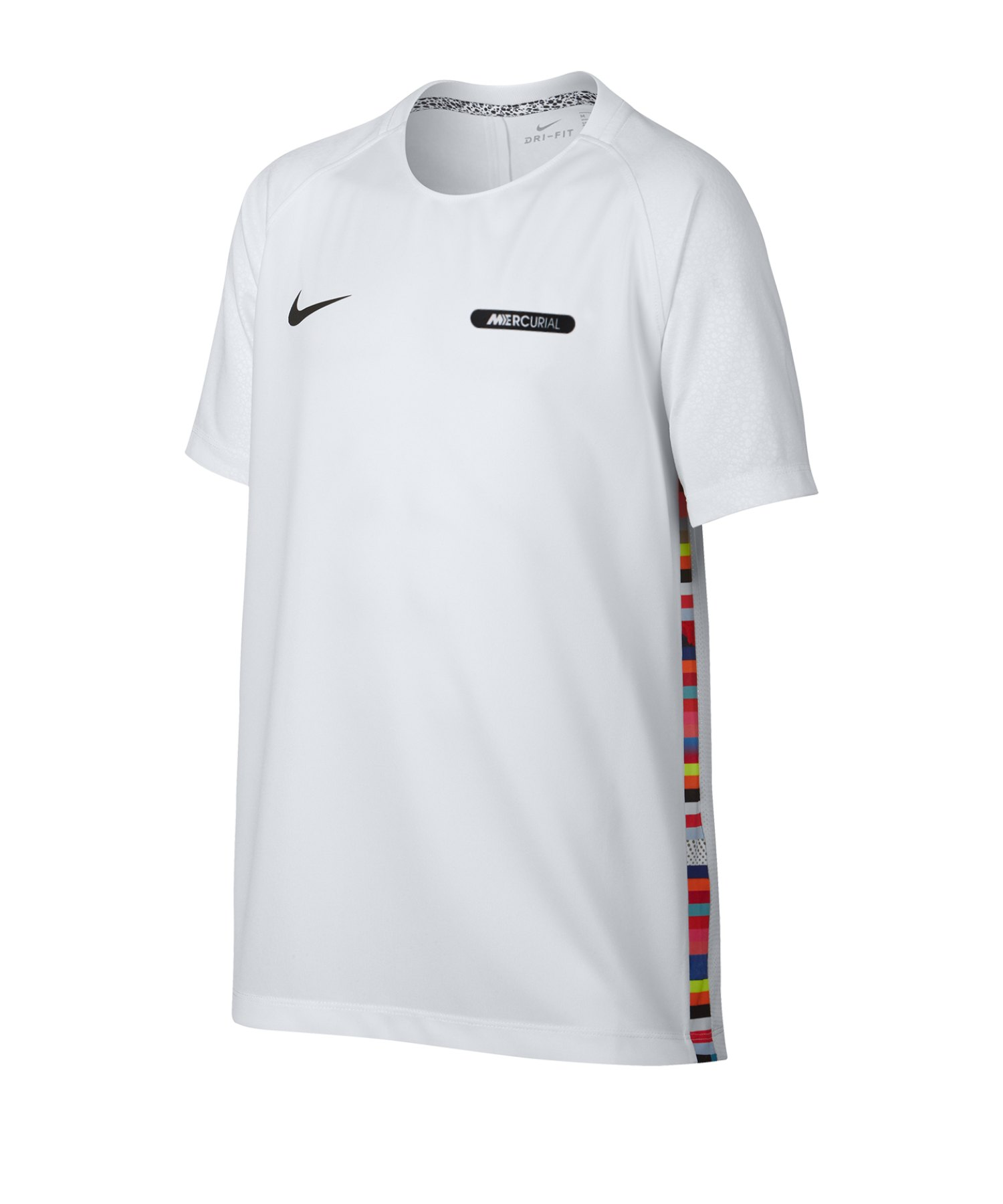 Nike Dri-FIT Tee T-Shirt Kids Weiss F100 - Weiss