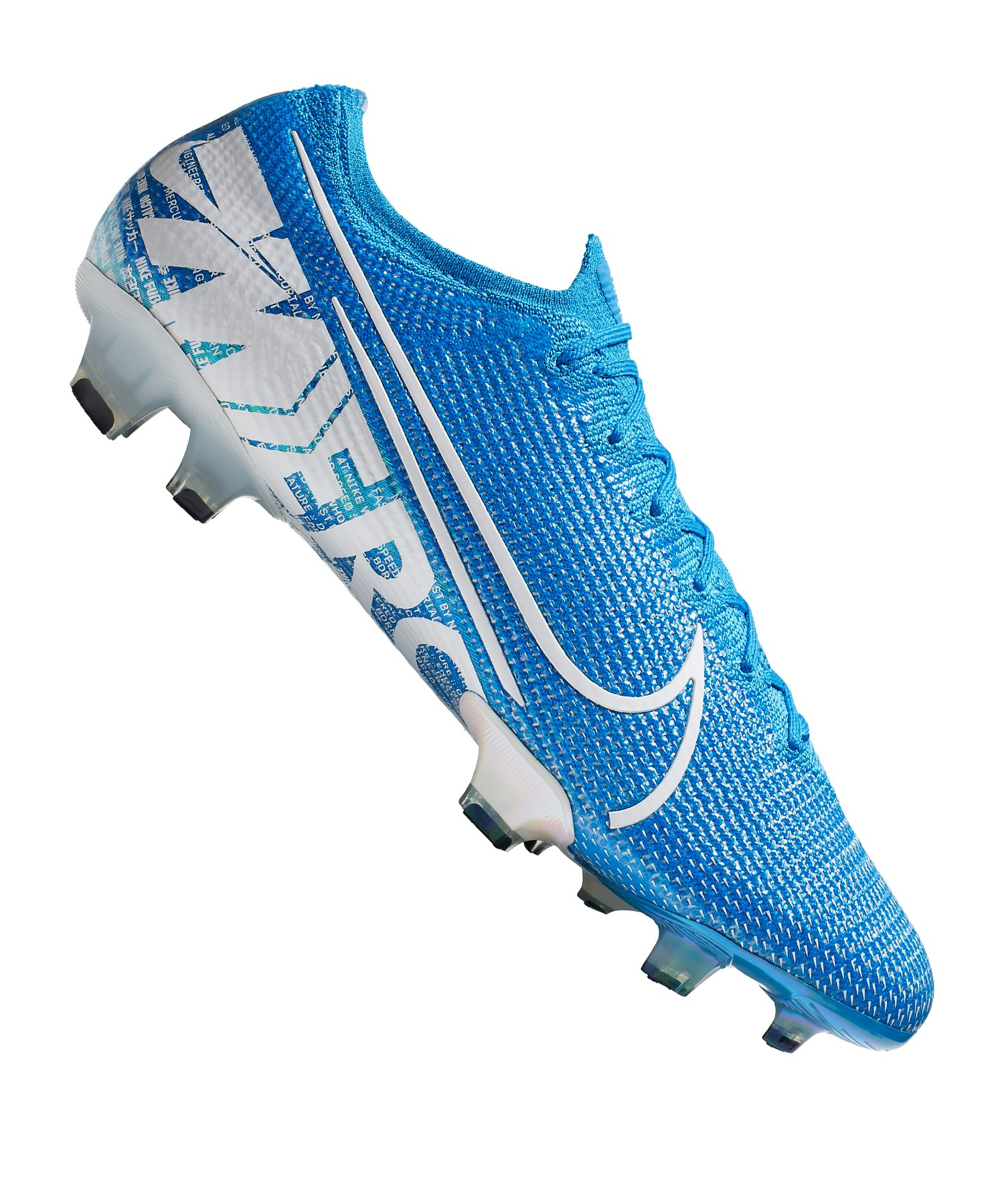 Nike Mercurial Vapor XIII Elite FG Blau Weiss F414 - blau
