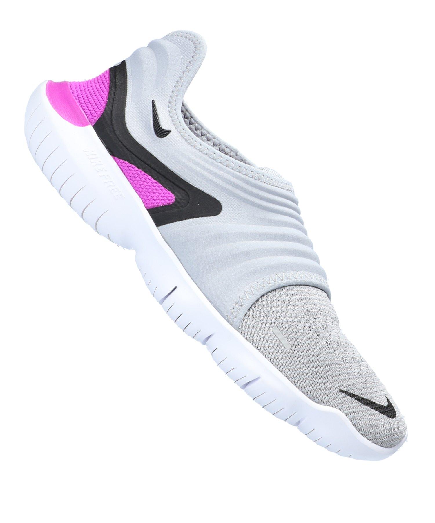 Nike Free RN Flyknit 3.0 Running F009 - grau
