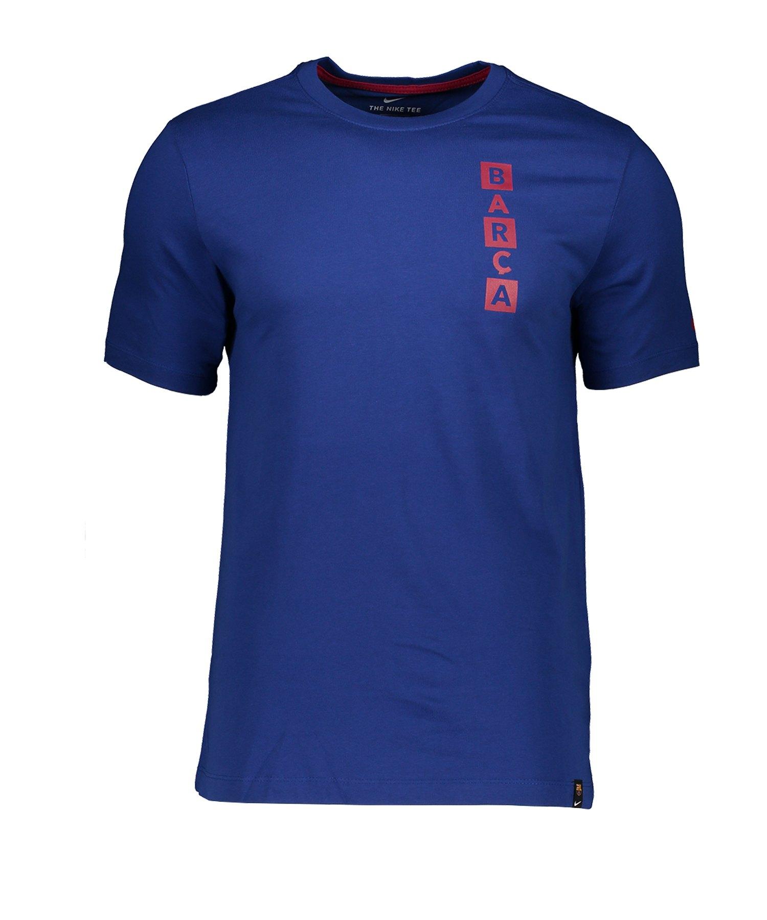 Nike FC Barcelona Story Tell T-Shirt F455 - blau