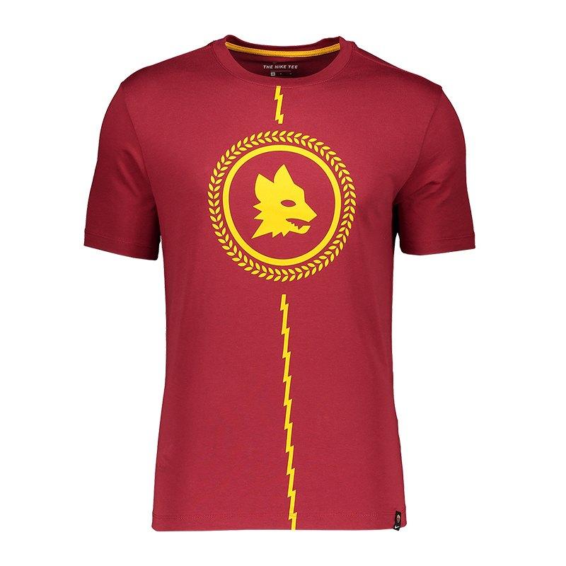 Nike AS Rom Story Tell T-Shirt Rot F613 - Rot