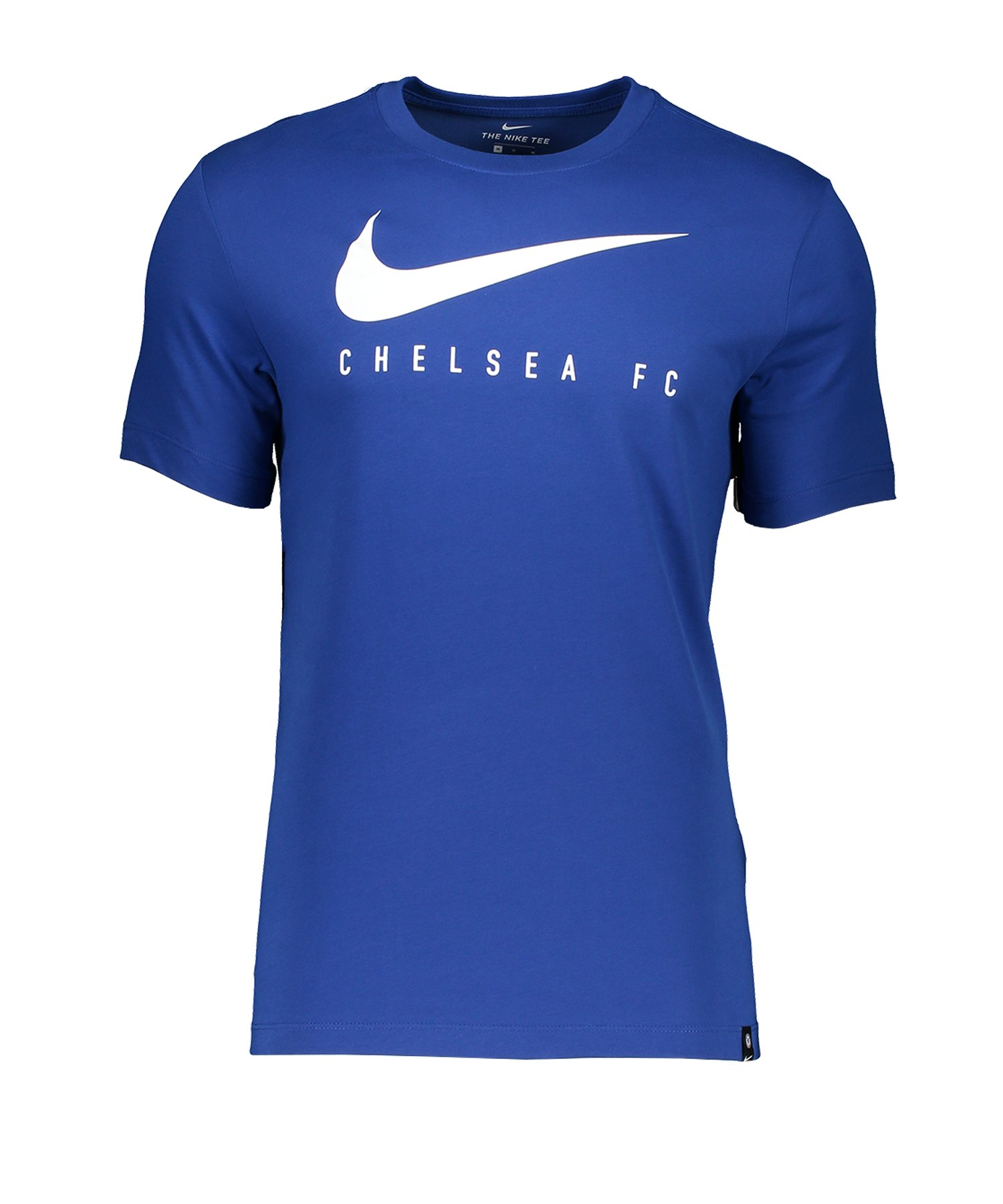 Nike FC Chelsea London Ground T-Shirt Blau F495 - Blau