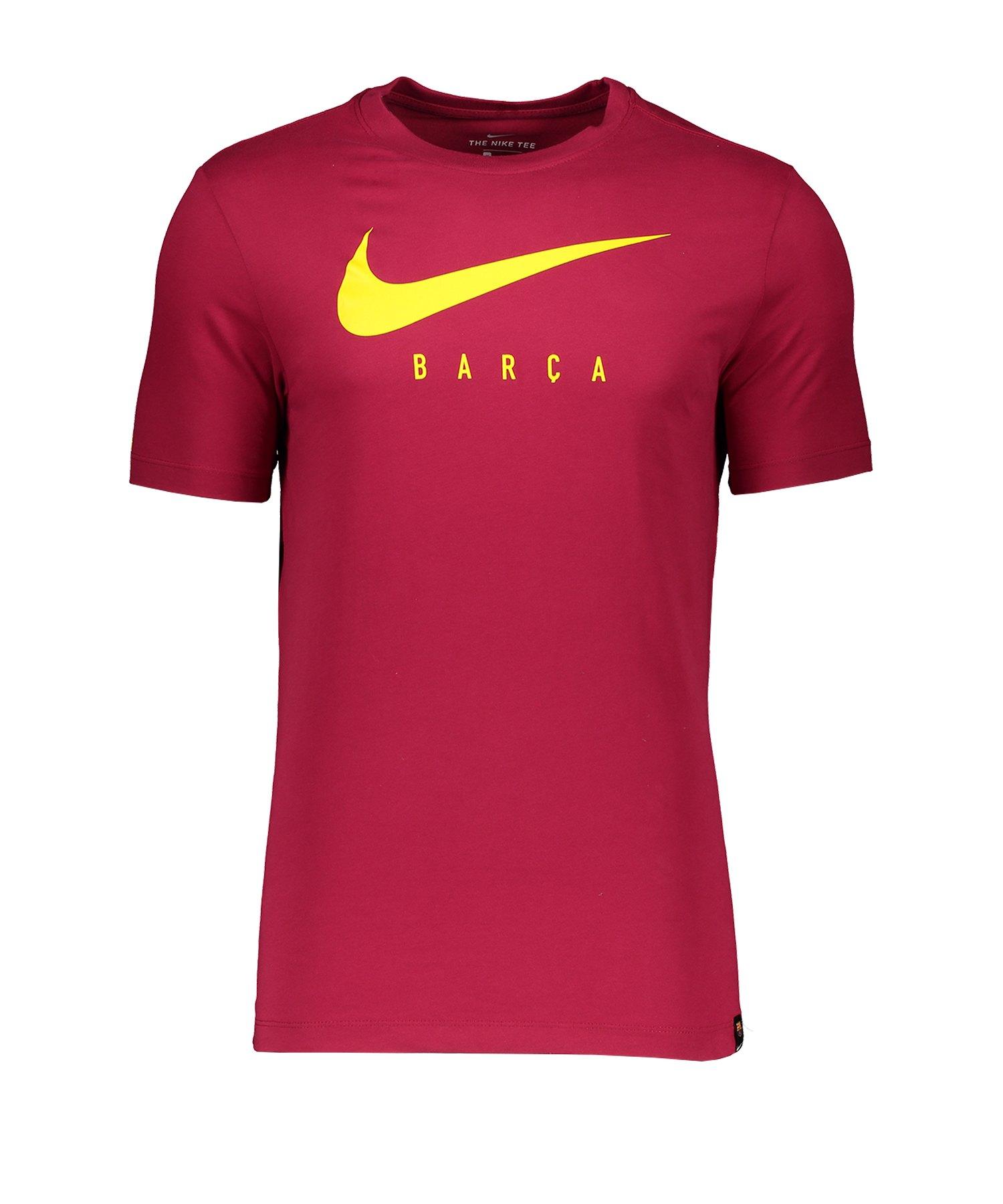Nike FC Barcelona Ground T-Shirt Rot F620 - Rot