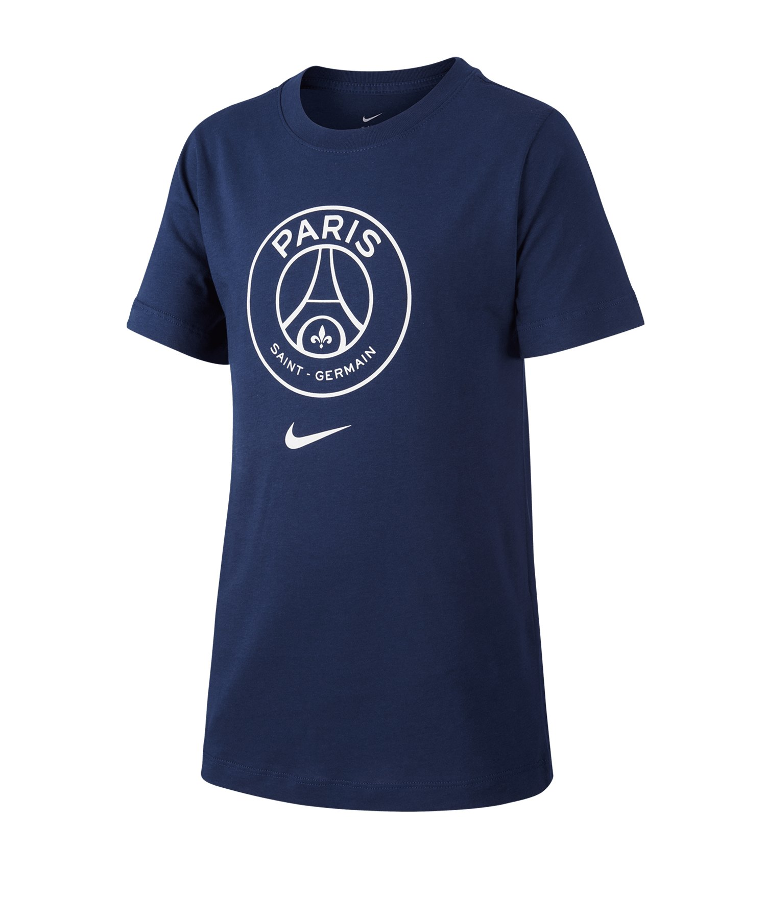 Jordan Paris St. Germain Crest T-Shirt Kids F411 - blau
