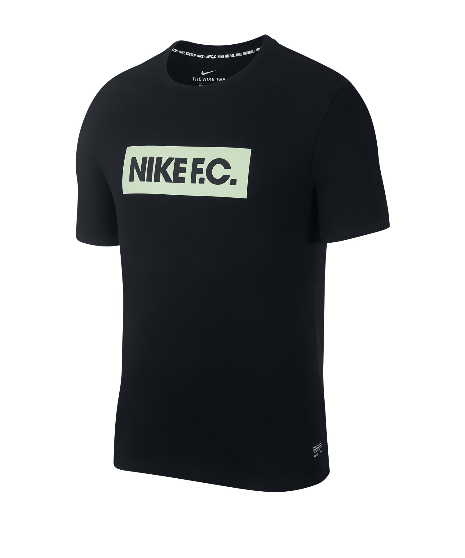 Nike F.C. Seasonal Block T-Shirt F010 - schwarz