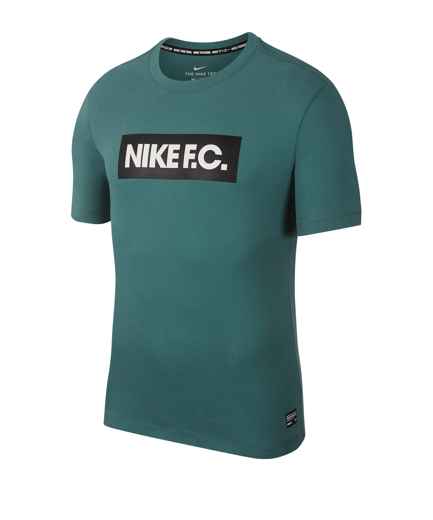 Nike F.C. Seasonal Block T-Shirt F362 - gruen