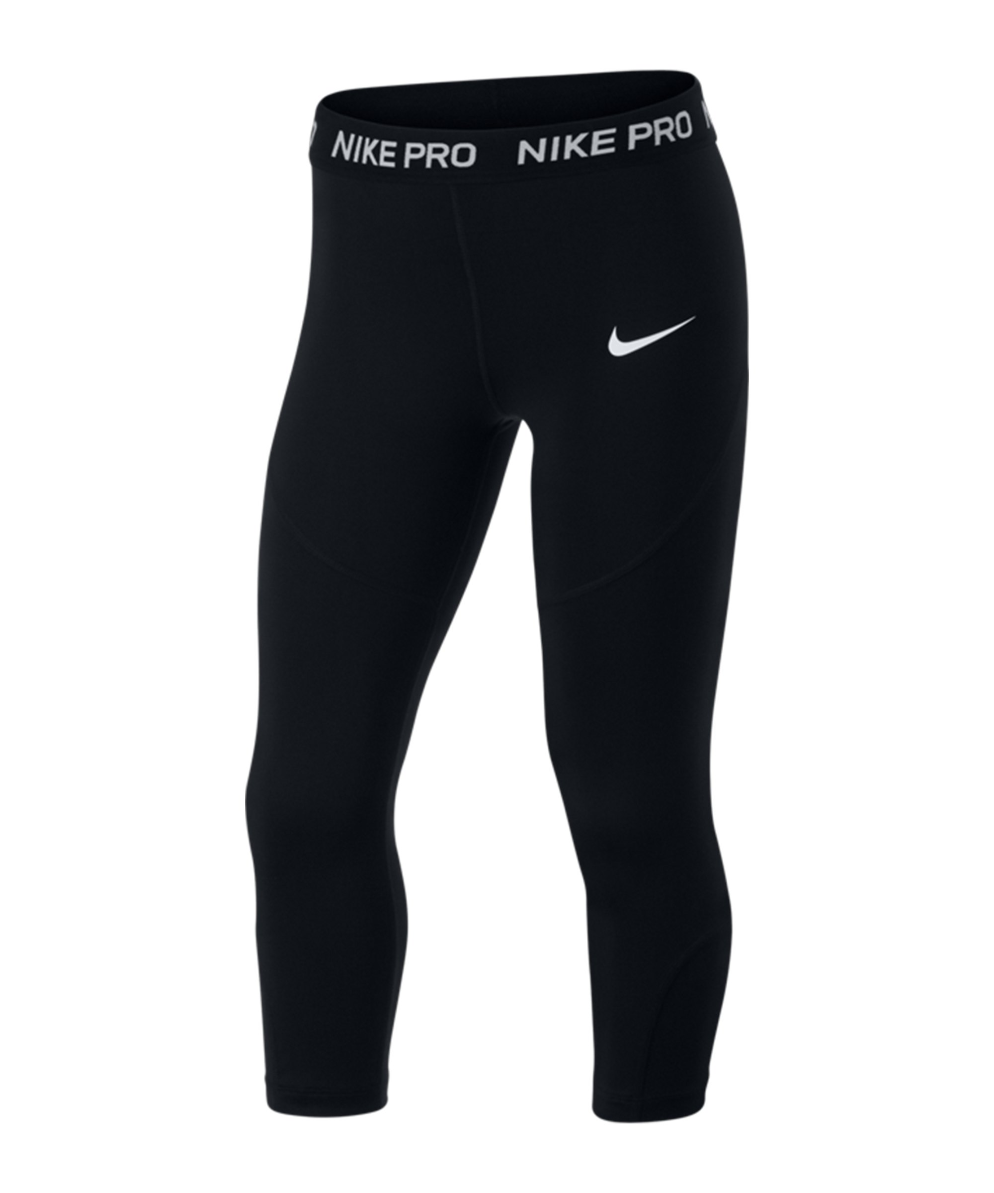 Nike Capri 3/4 Leggings Kids F010 - schwarz