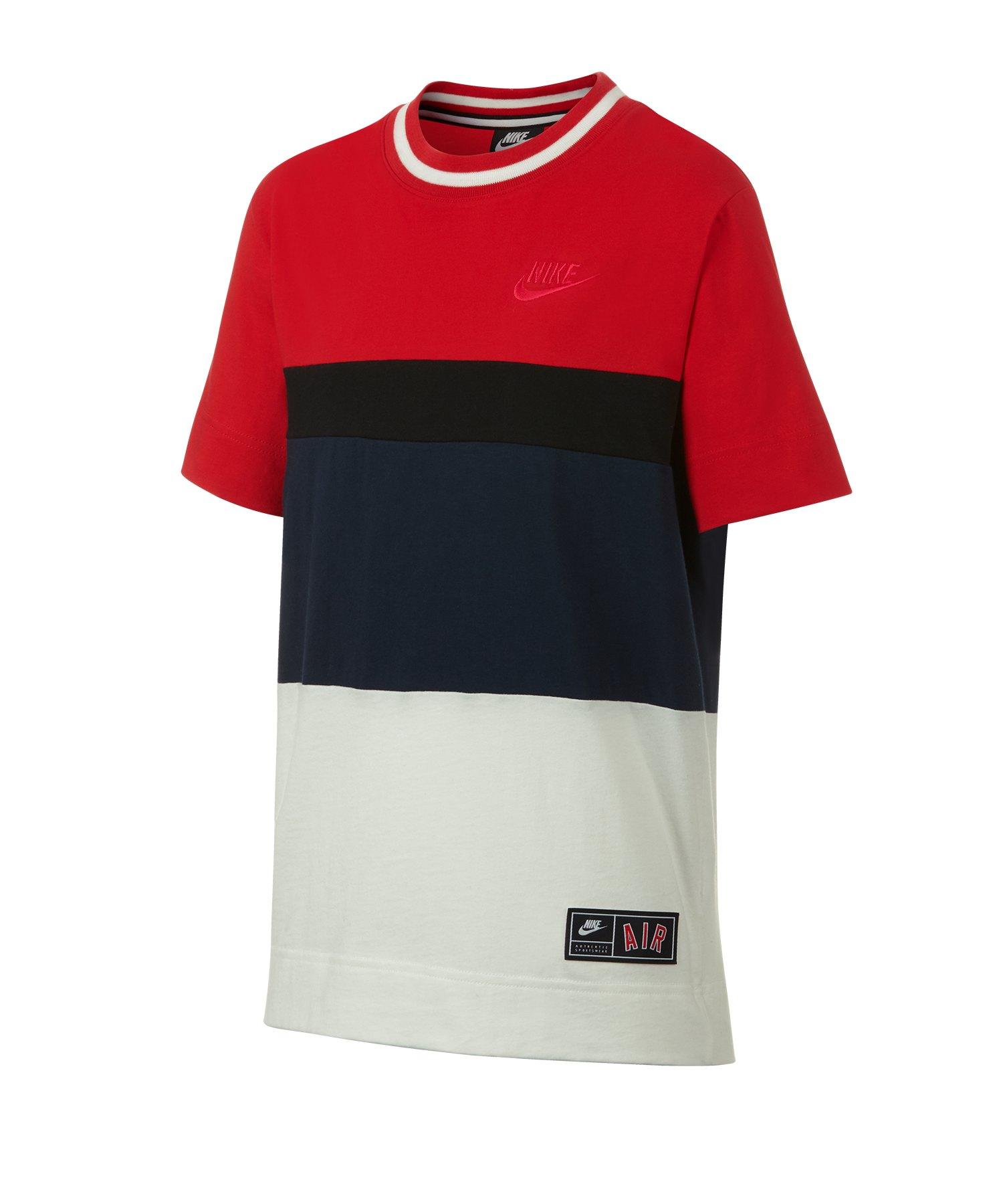 Nike Air T-Shirt Kids Rot F657 - rot