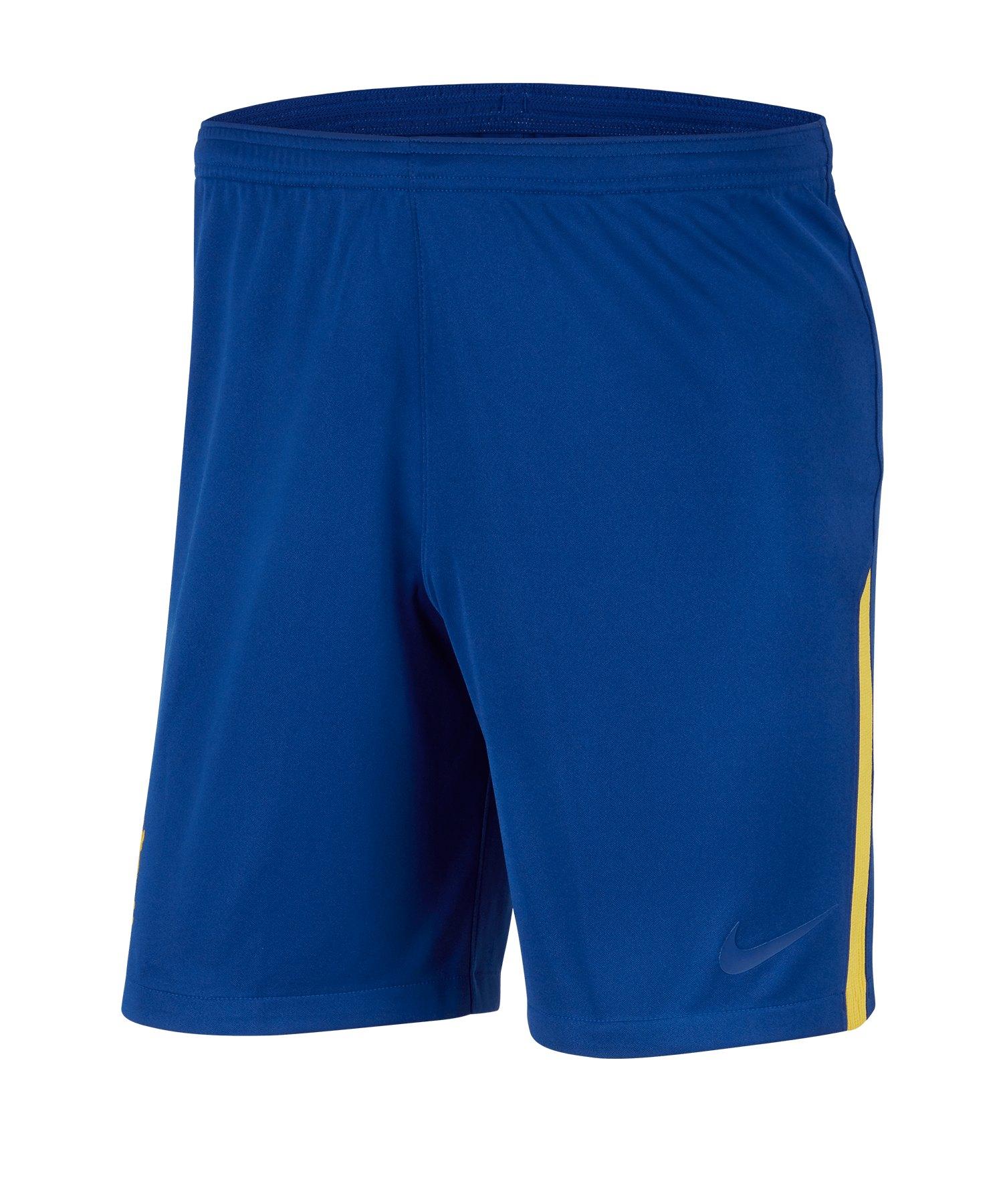 Nike FC Chelsea London Cup Short Blau F495 - blau