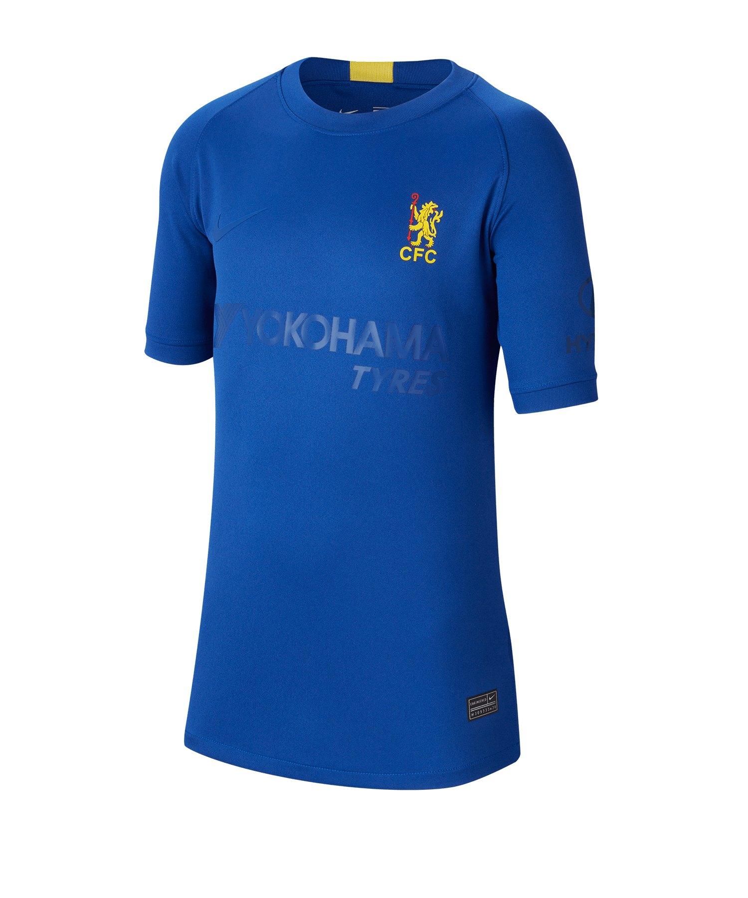 Nike FC Chelsea London Cup Trikot SS Kids F496 - blau