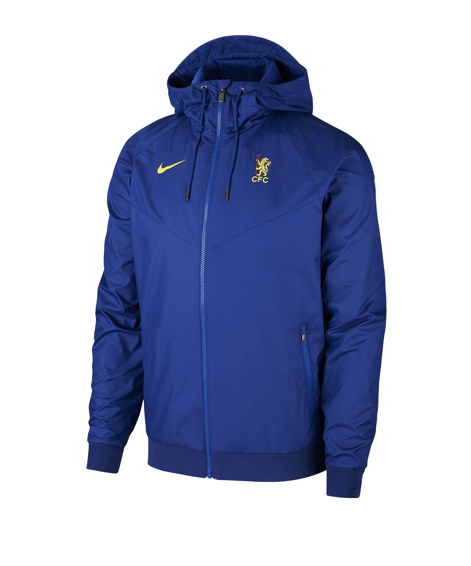 Nike FC Chelsea Windrunner Jacket Blau F495 - blau