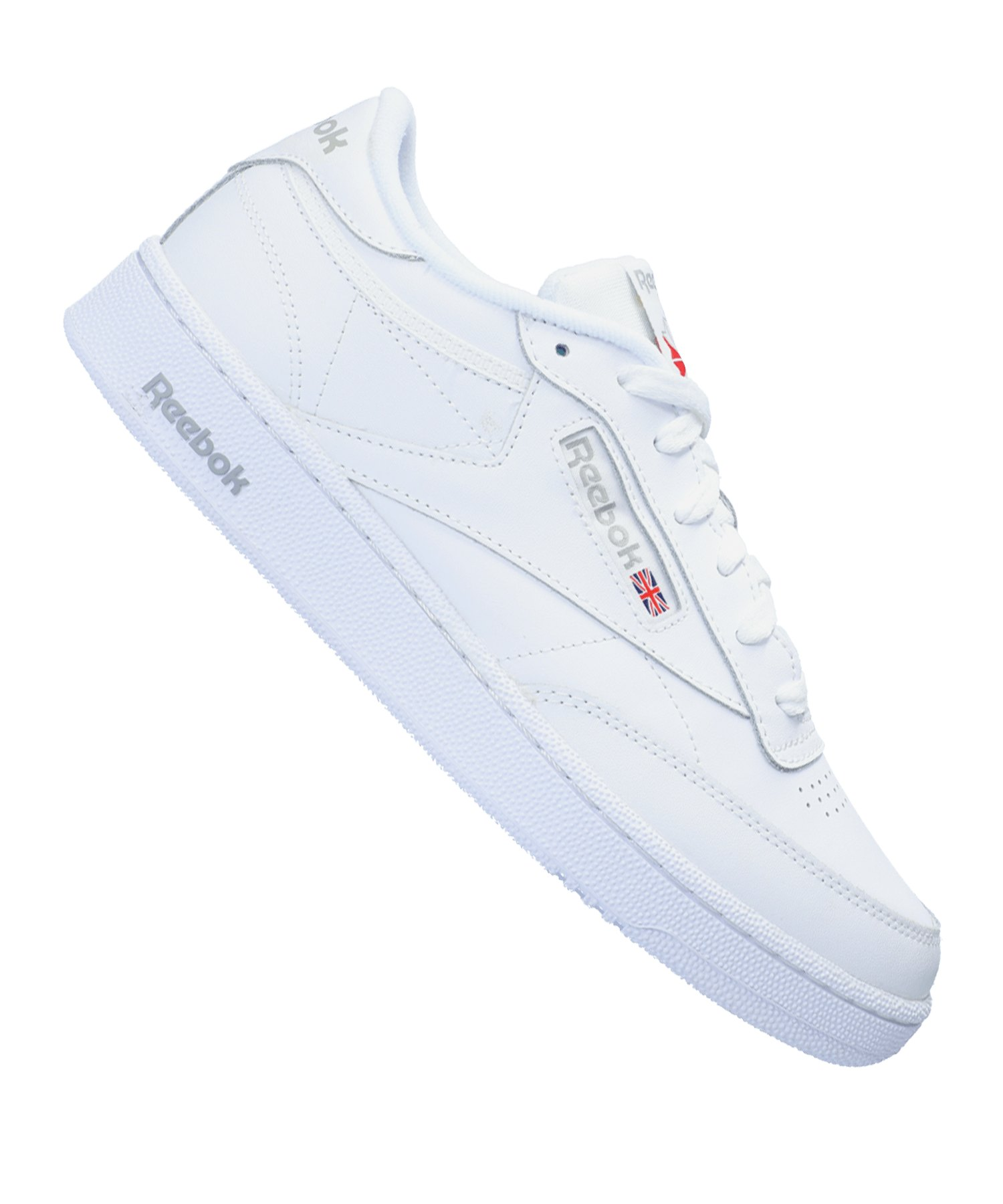 Reebok Club C 85 Sneaker Weiss Grau - weiss
