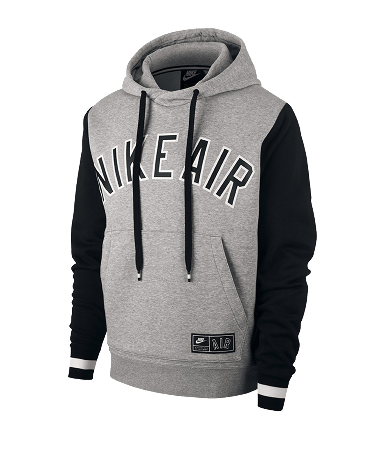 Nike Air Fleece Hoody Grau F063 - grau