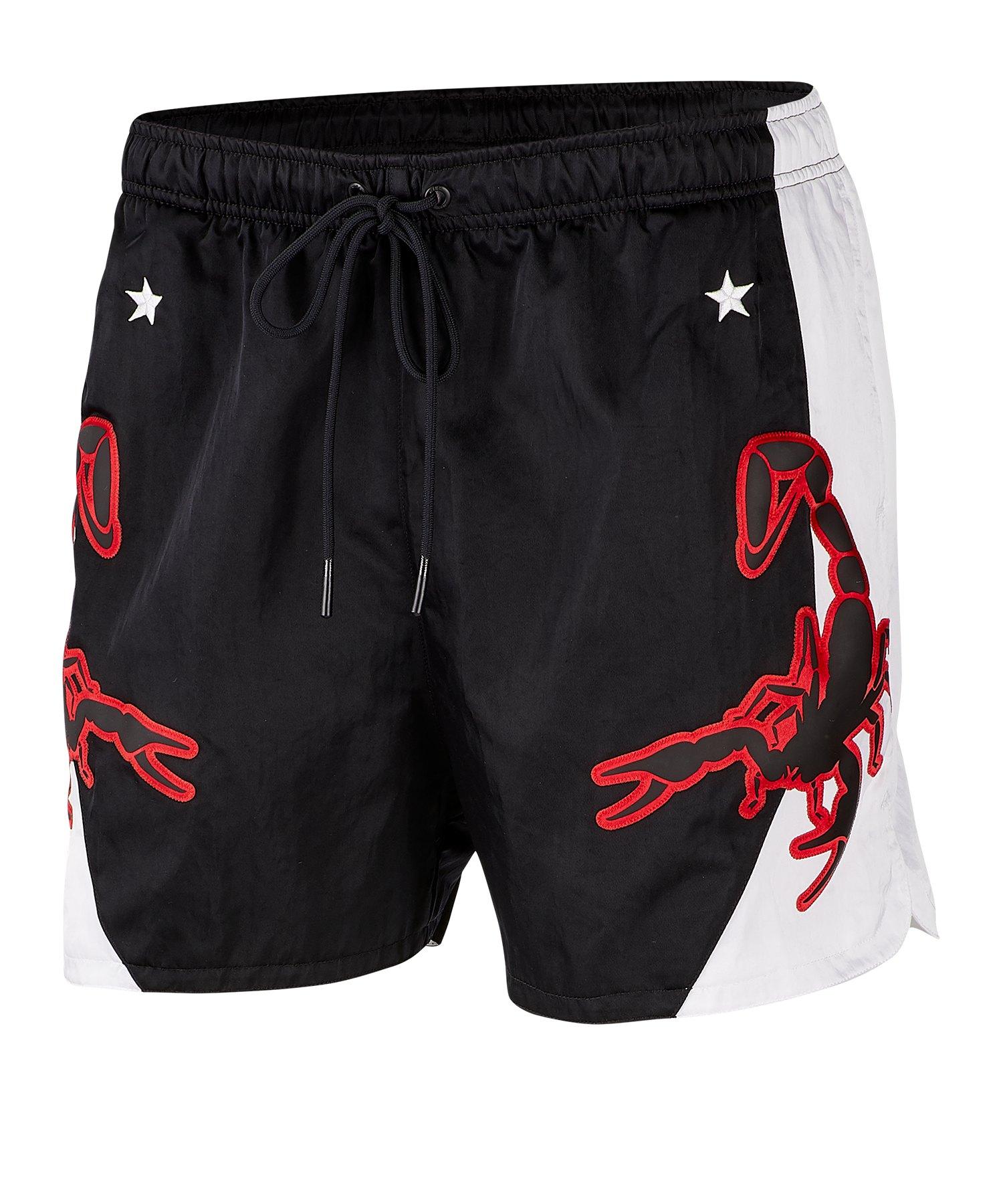 Nike Woven Short Hose kurz Schwarz F010 - Schwarz