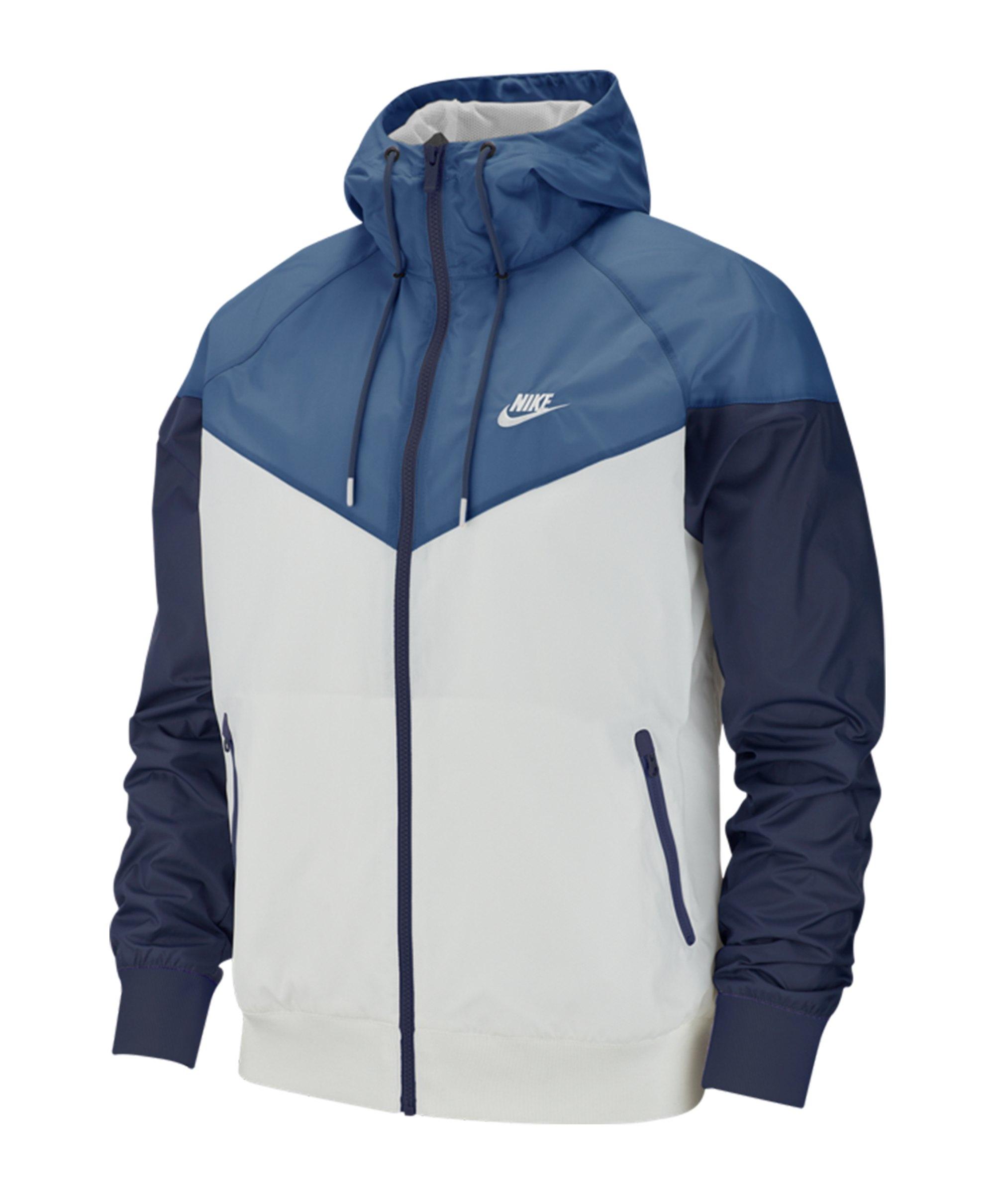 Nike Windrunner Kapuzenjacke Blau F028 - blau