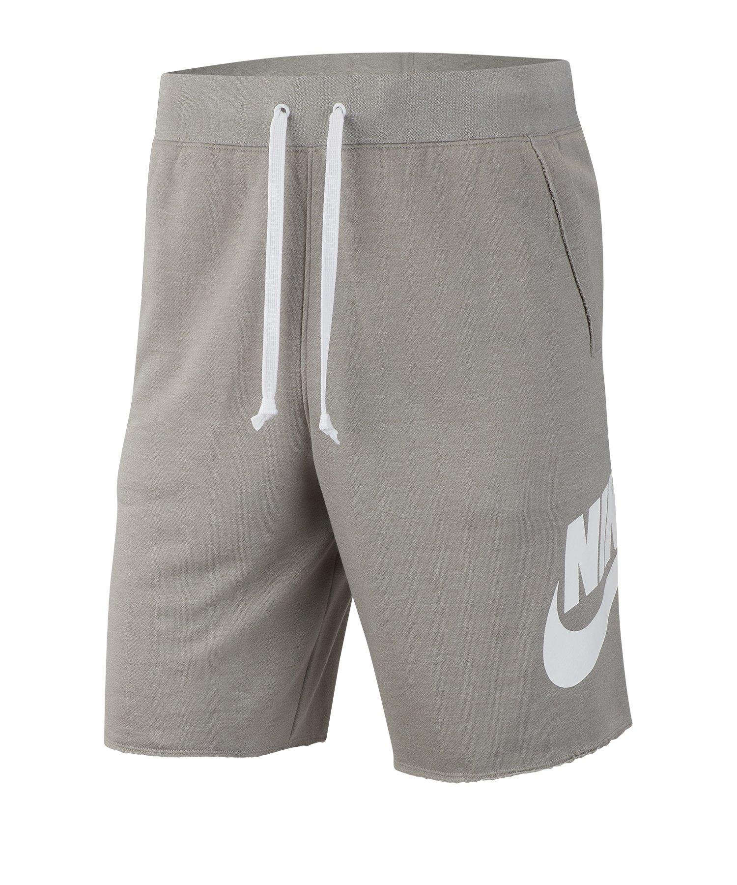 Nike Short Grau Weiss F064 - Grau
