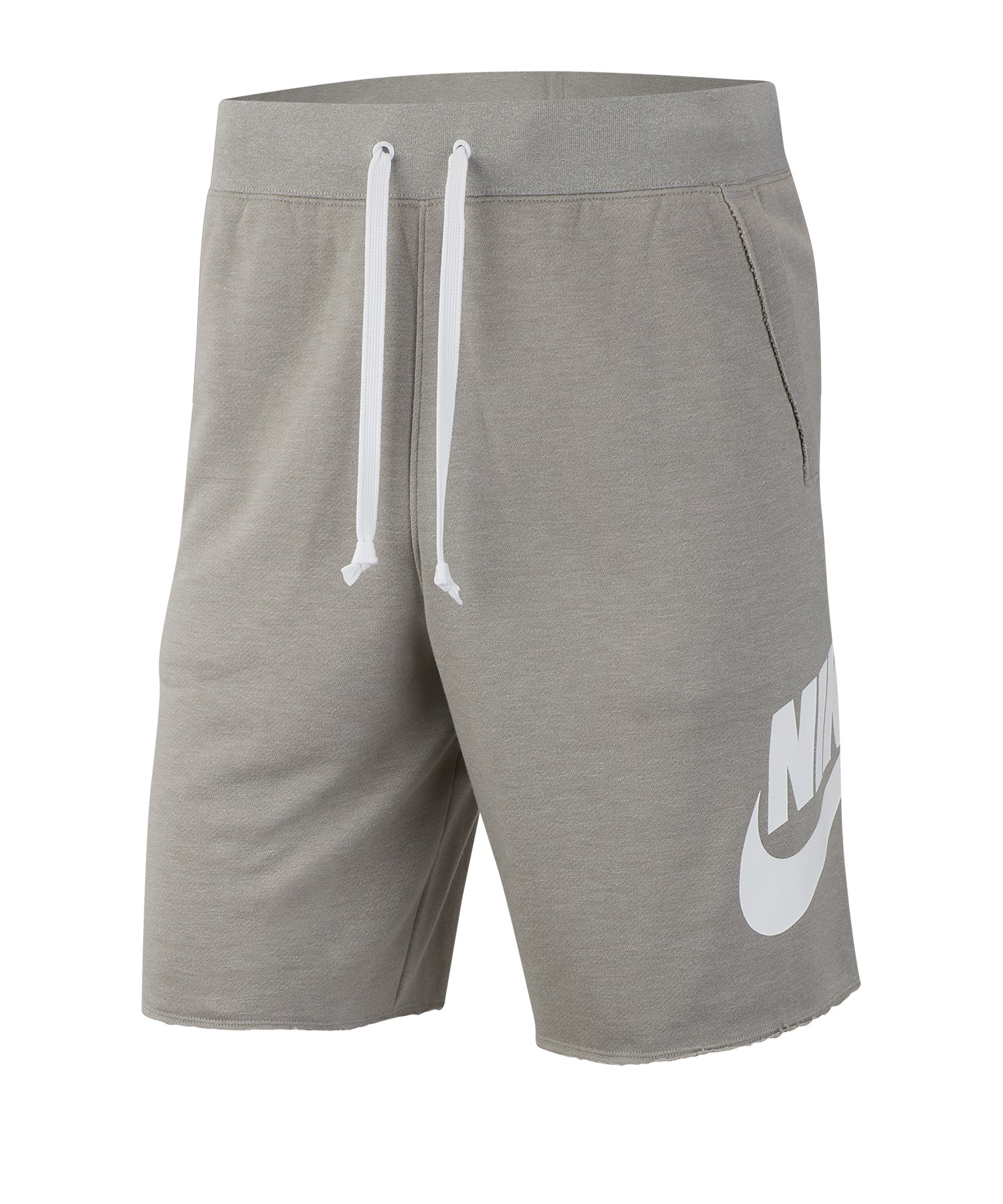 Nike Short Hose kurz Grau Weiss F064 - Grau