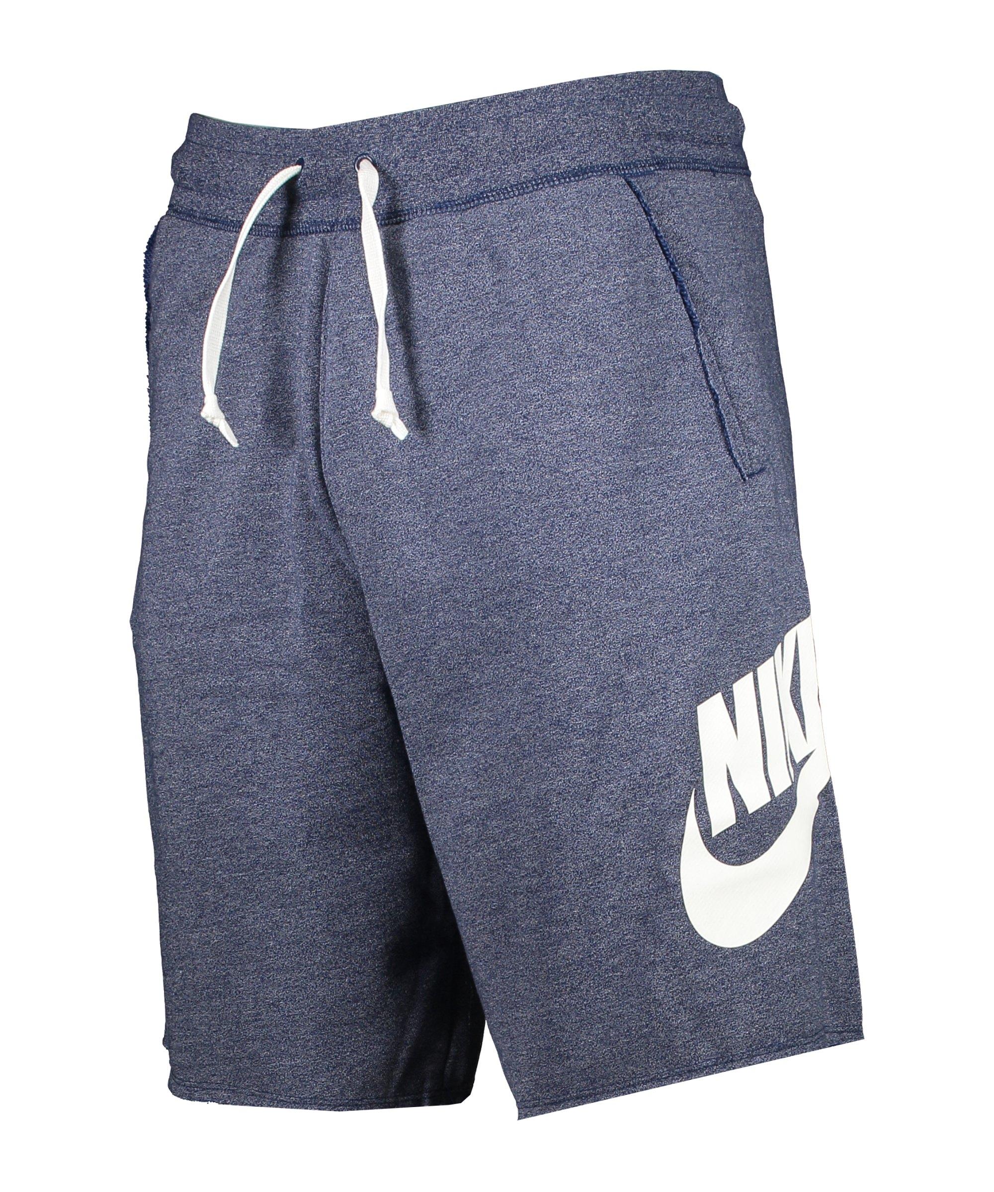 Nike Sportswear Alumni Short Blau F494 - blau