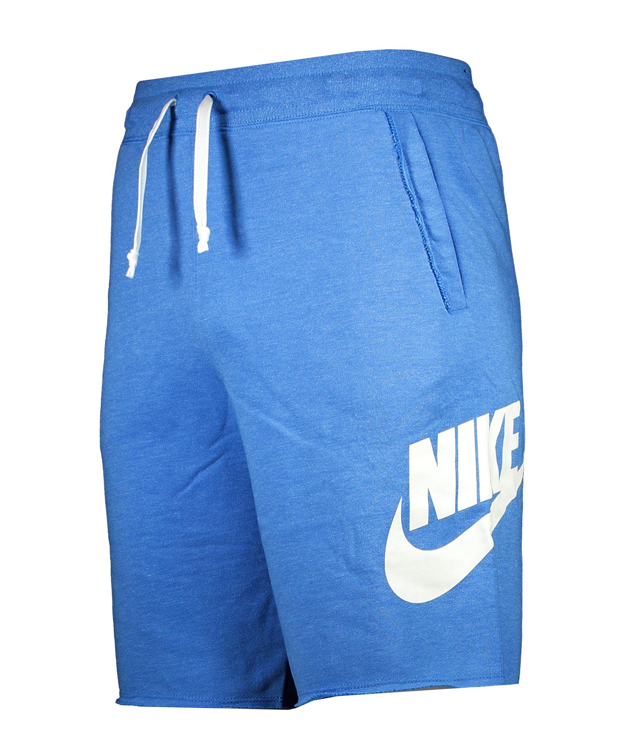 Nike Sportswear Alumni Short Blau Weiss F462 - blau