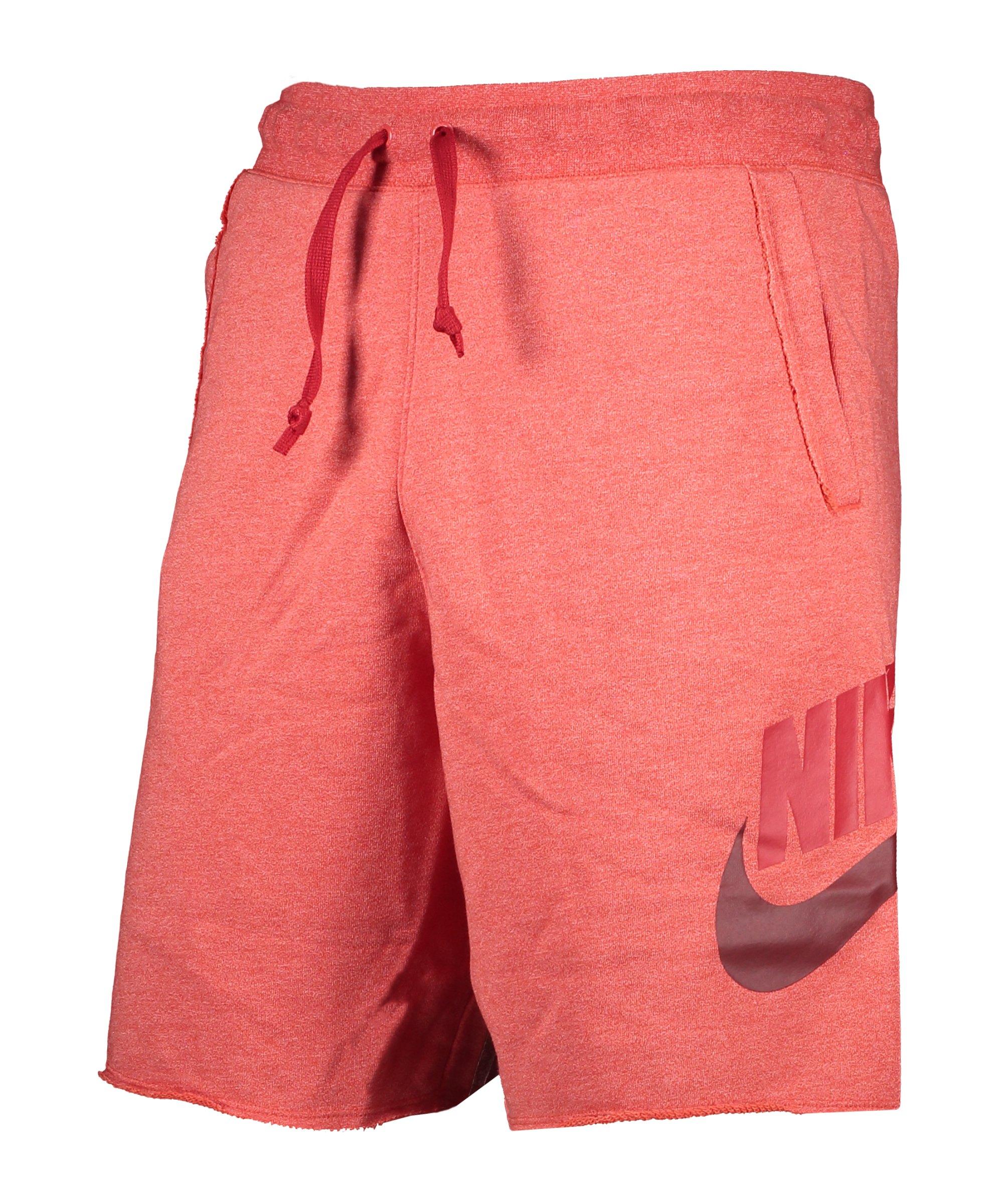 Nike Sportswear Alumni Short Rot F605 - rot