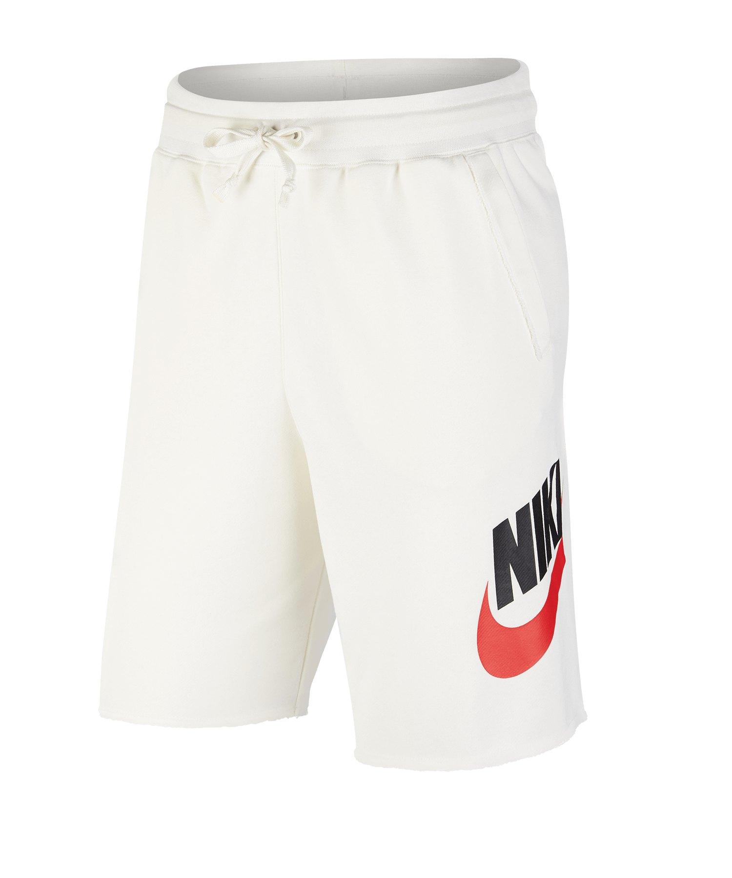 Nike Sportswear Alumni Short Weiss F133 - weiss