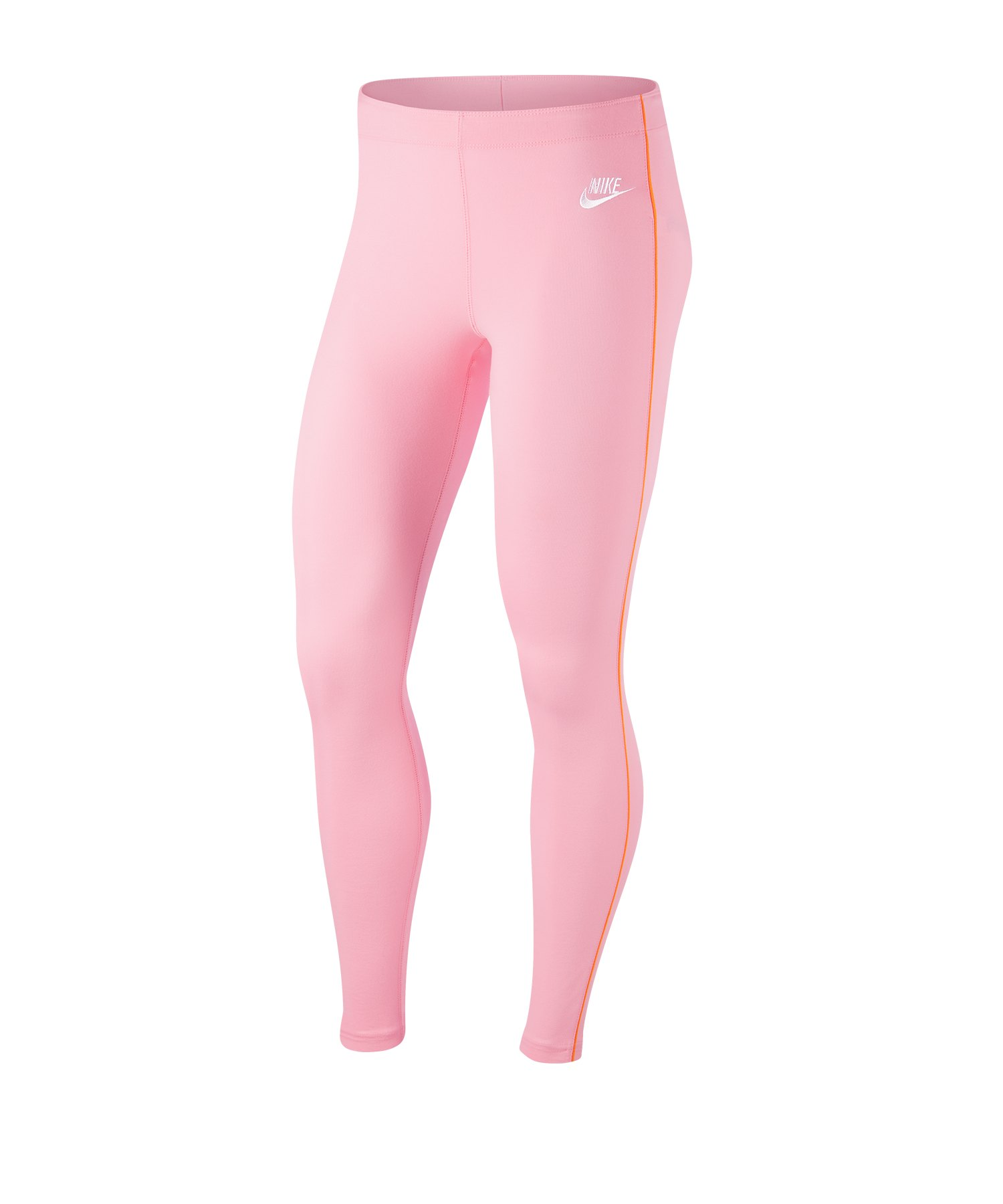 Nike Heritage Leggings Damen Pink Orange F690 - pink