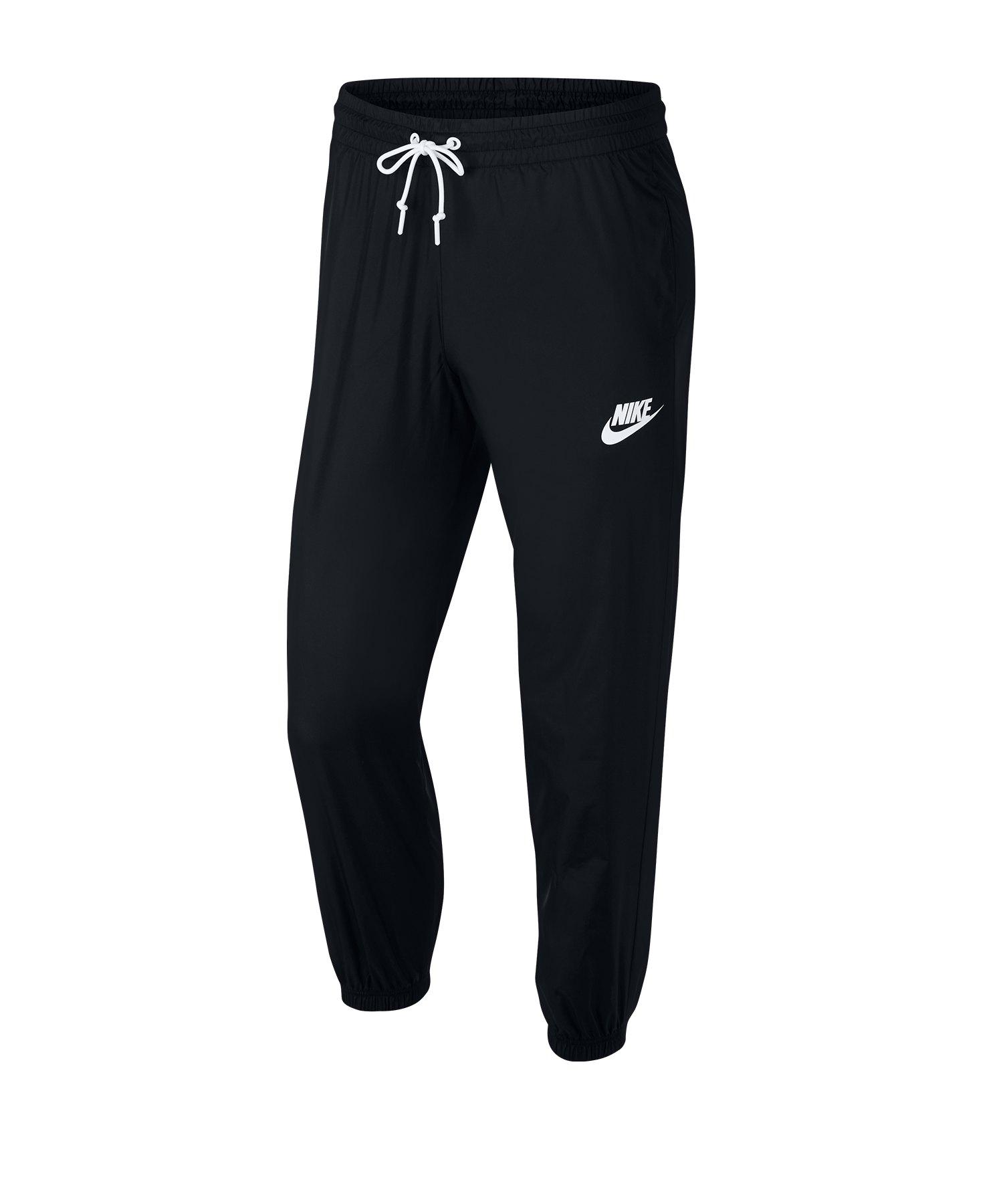 Nike Woven Pant Hose Damen Schwarz F010 - schwarz
