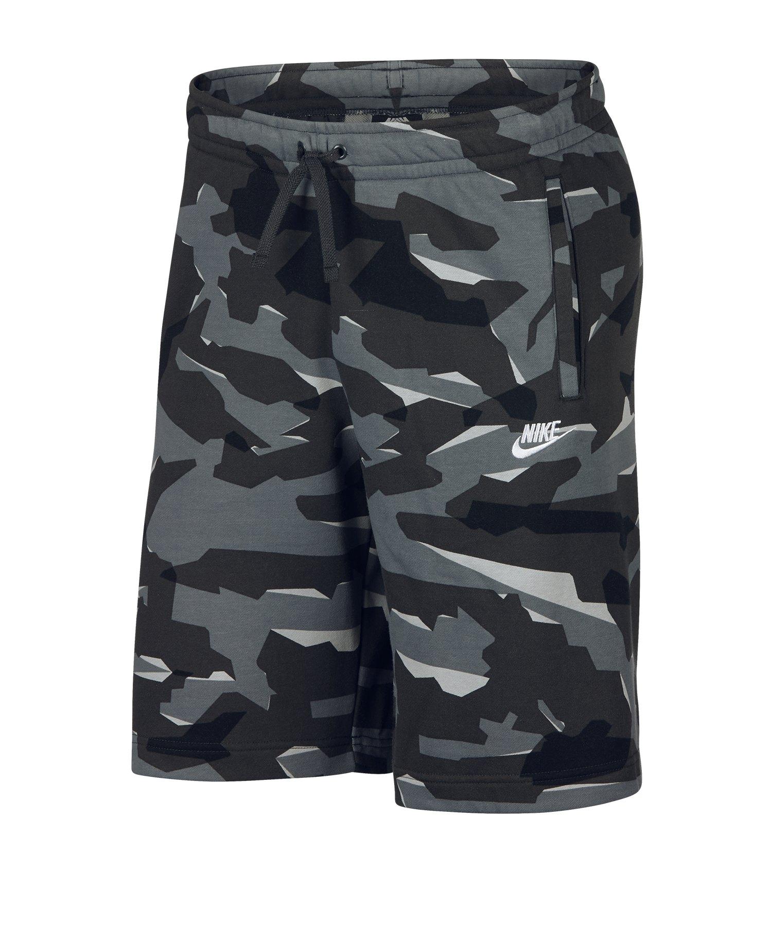 Nike Club Camo Short Grau F065 - Grau