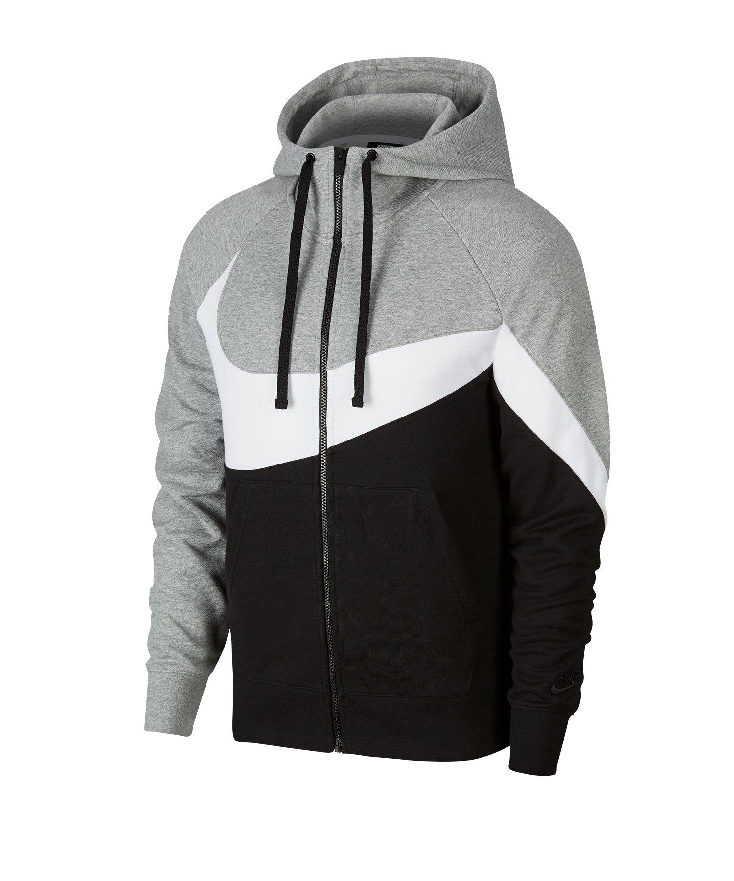 Nike Statement Fullzip Kapuzenjacke Grau F063 - grau
