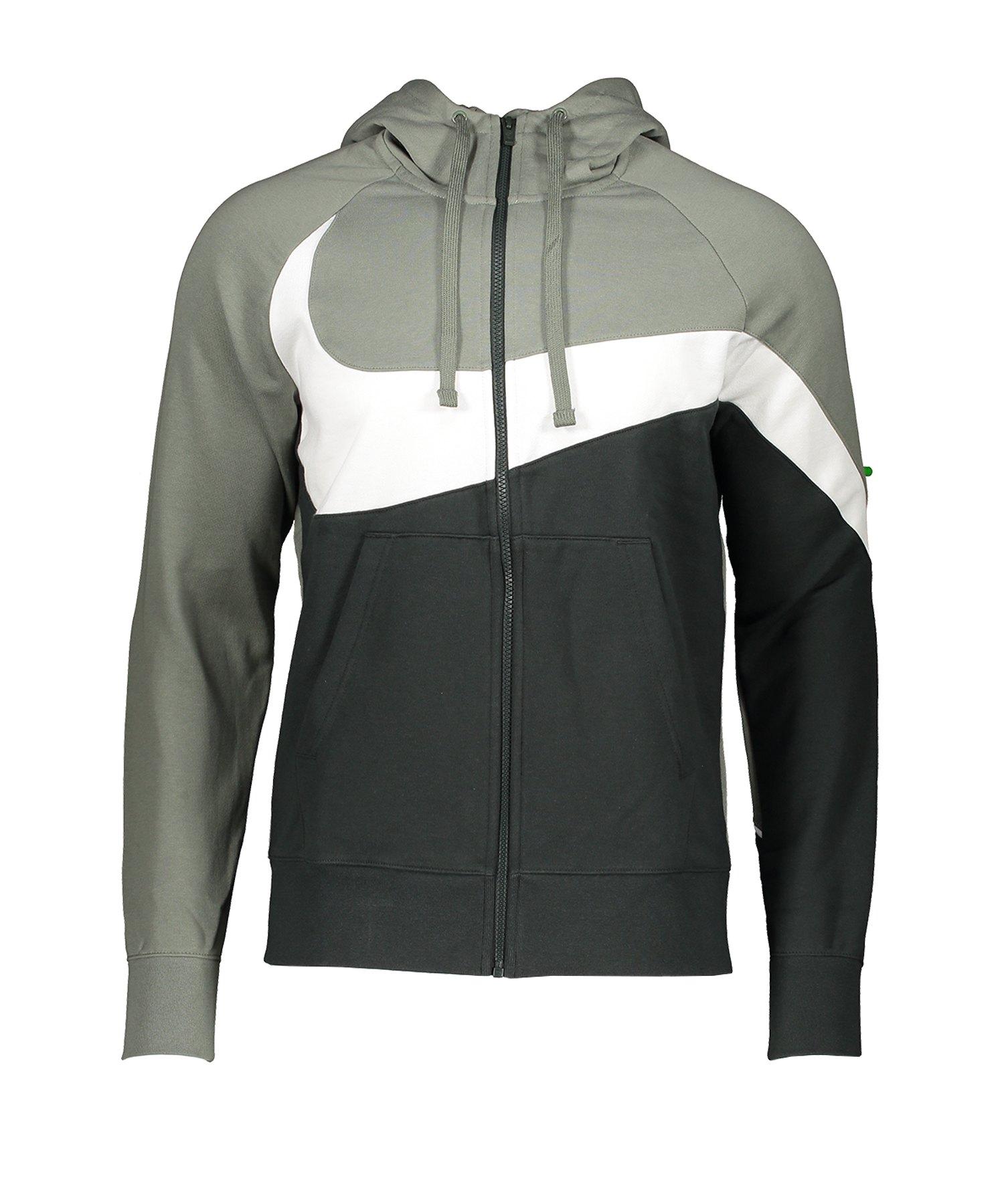 Nike Statement Fullzip Kapuzenjacke Grün F351 - gruen