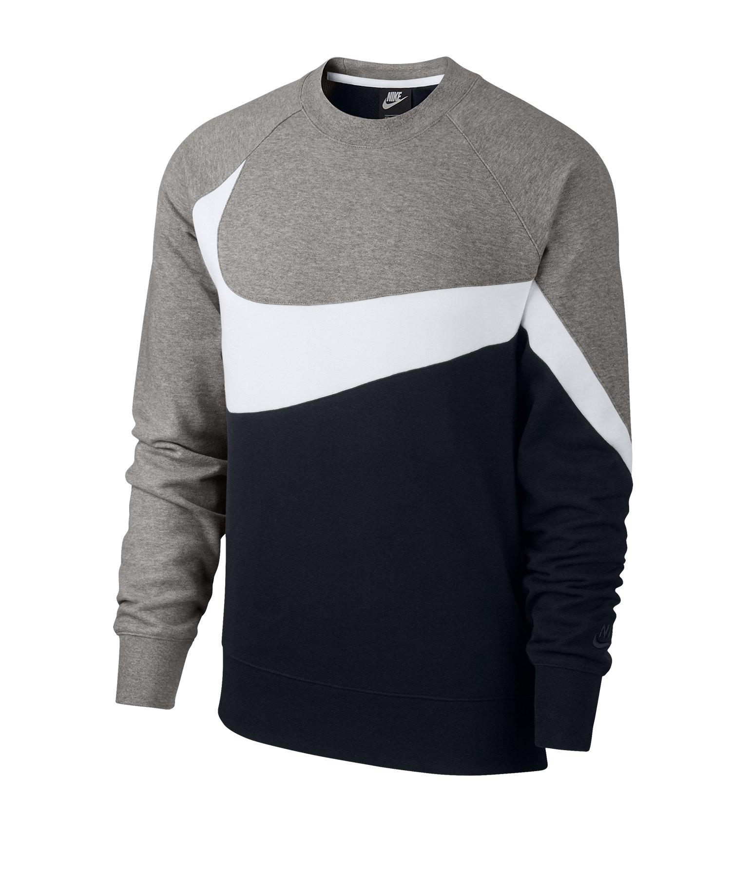 Nike Statement Crew Sweatshirt Schwarz F011 - schwarz