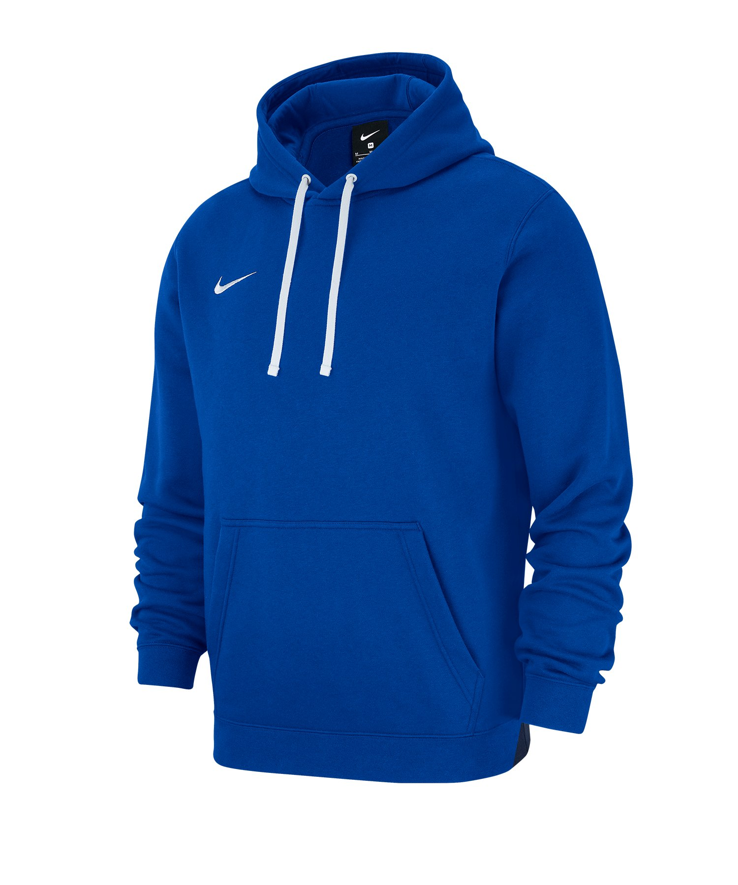 Nike Club 19 Fleece Hoody Blau F463 - blau