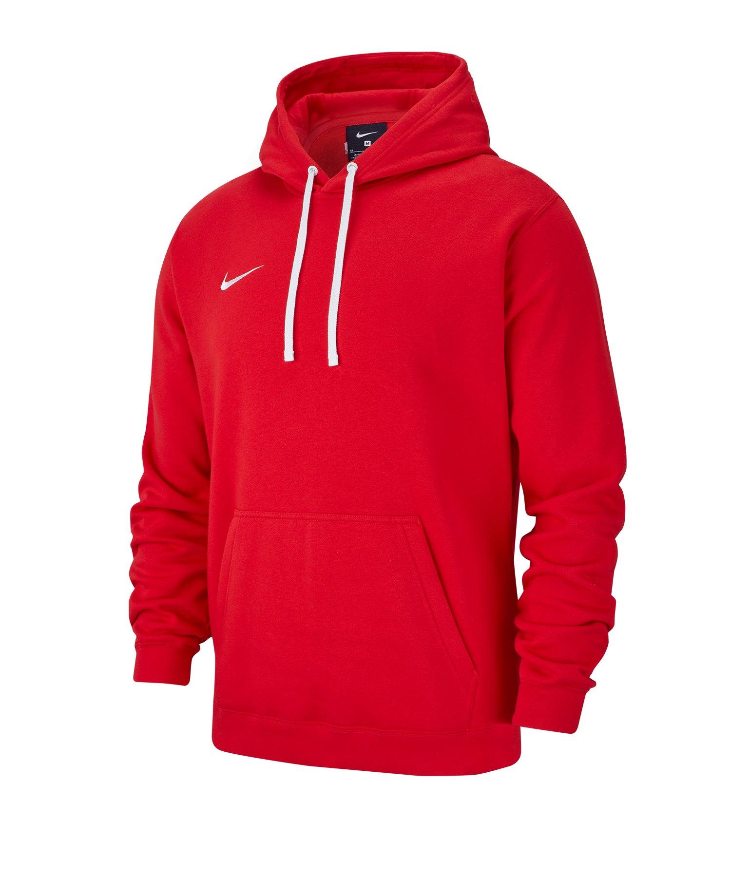 Nike Club 19 Fleece Hoody Rot F657 - rot