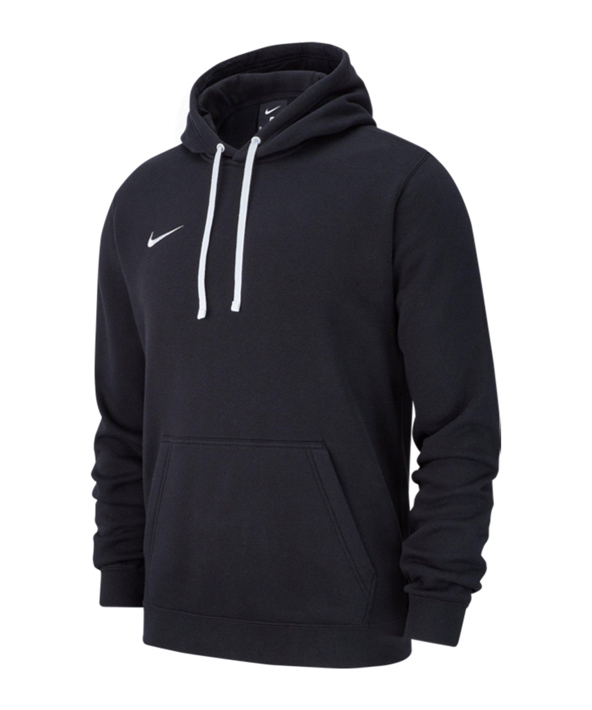 Nike Club 19 Fleece Hoody Schwarz F010 - schwarz