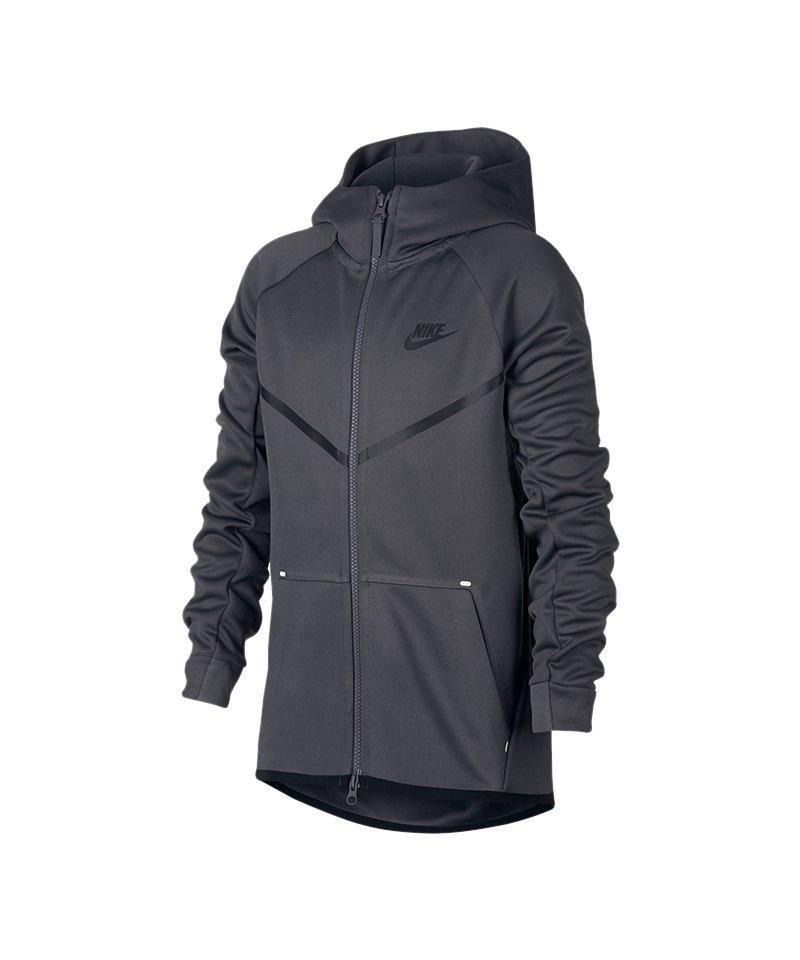 Nike Tech Fleece Windrunner Jacket Jacke Kids F021 - grau