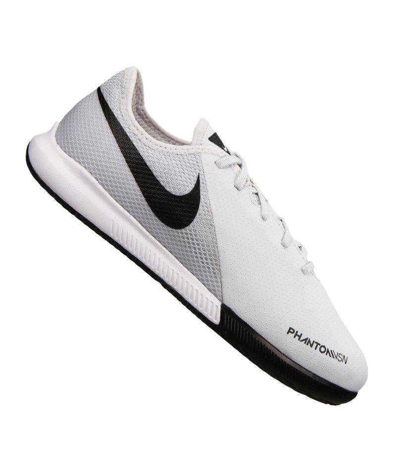 Nike Phantom Vision Academy IC Kids Silber F060 - silber
