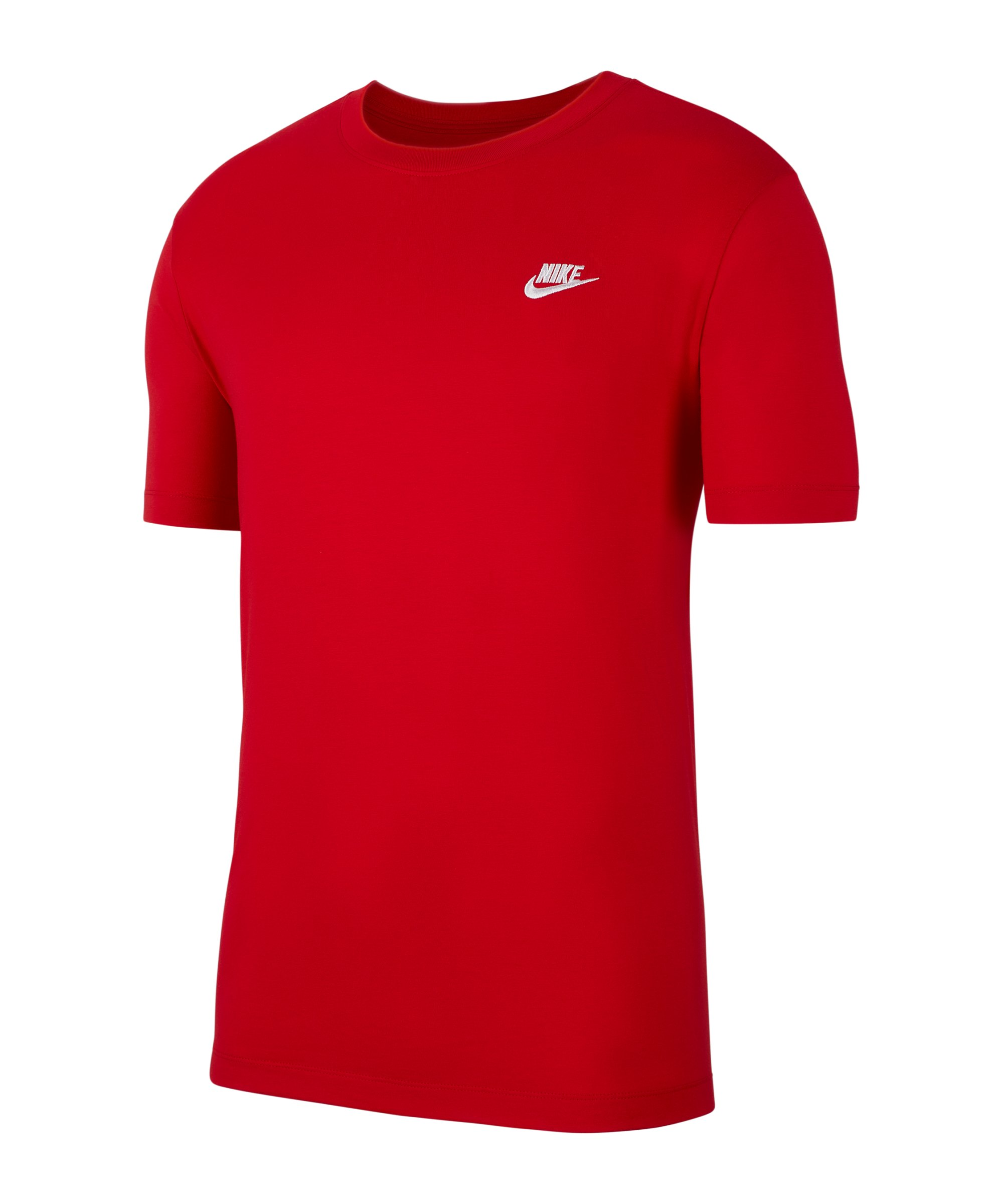 Nike Club T-Shirt Rot F657 - rot