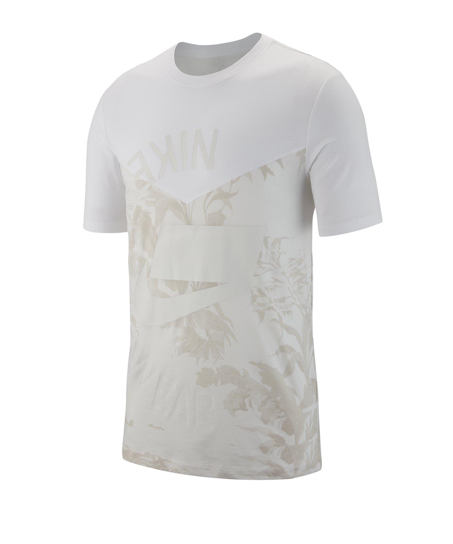 Nike 2 Tee T-Shirt Weiss F100 - weiss