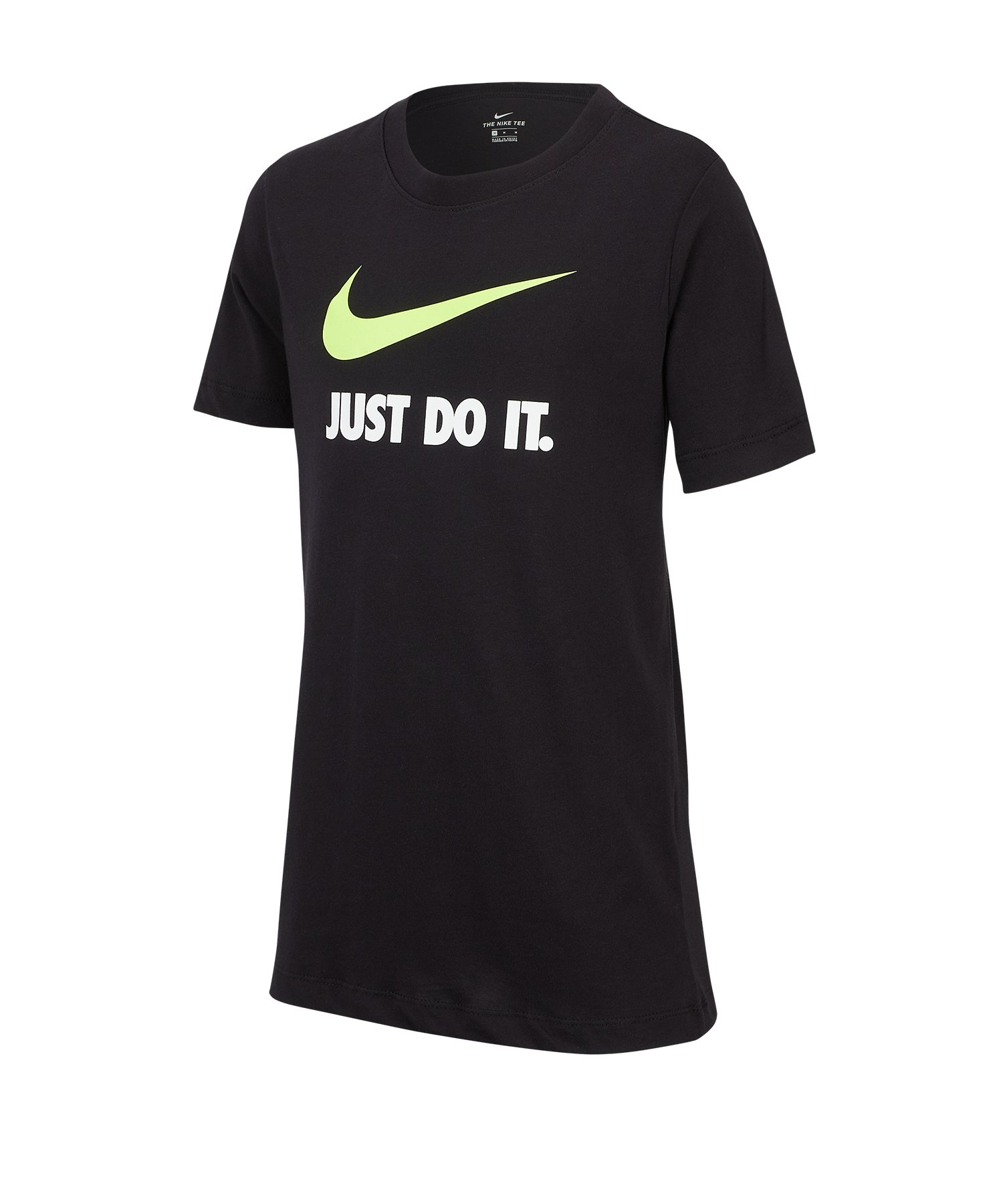Nike Just Do It Swoosh Tee T-Shirt Kids F014 - schwarz