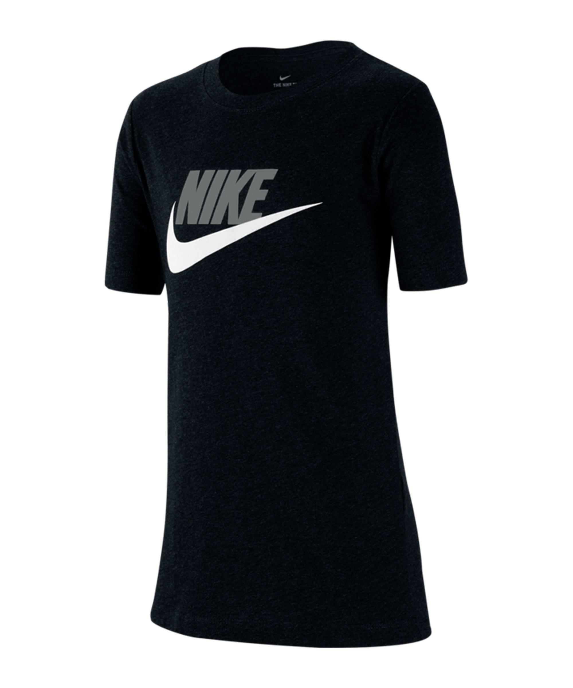 Nike T-Shirt Kids Schwarz F013 - schwarz