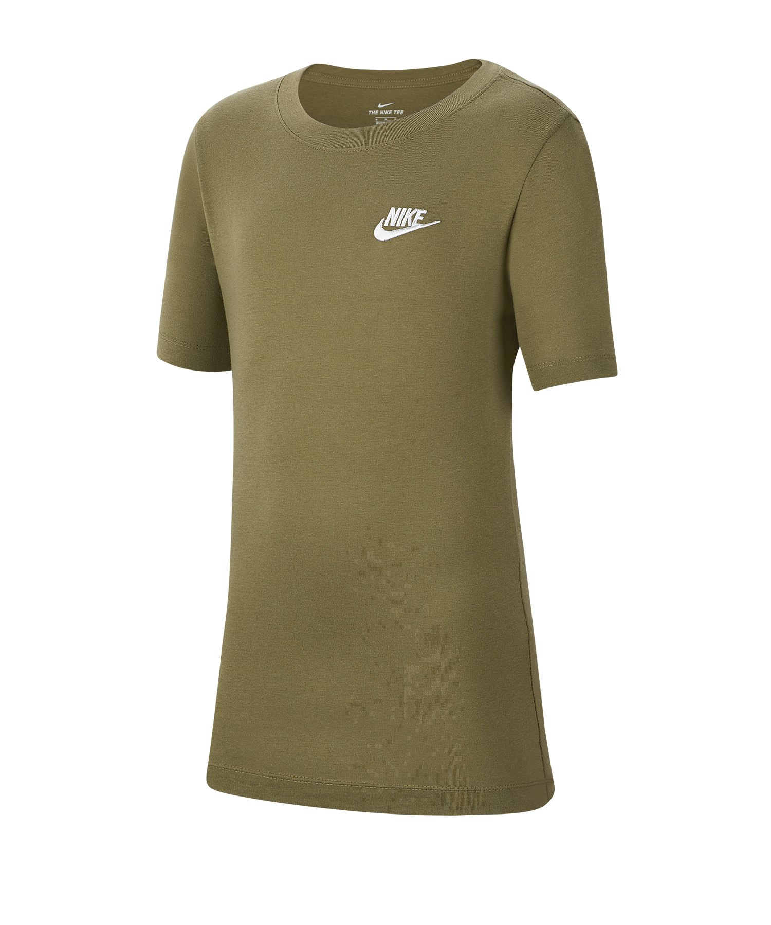 Nike Futura T-Shirt Kids Grün F222 - gruen