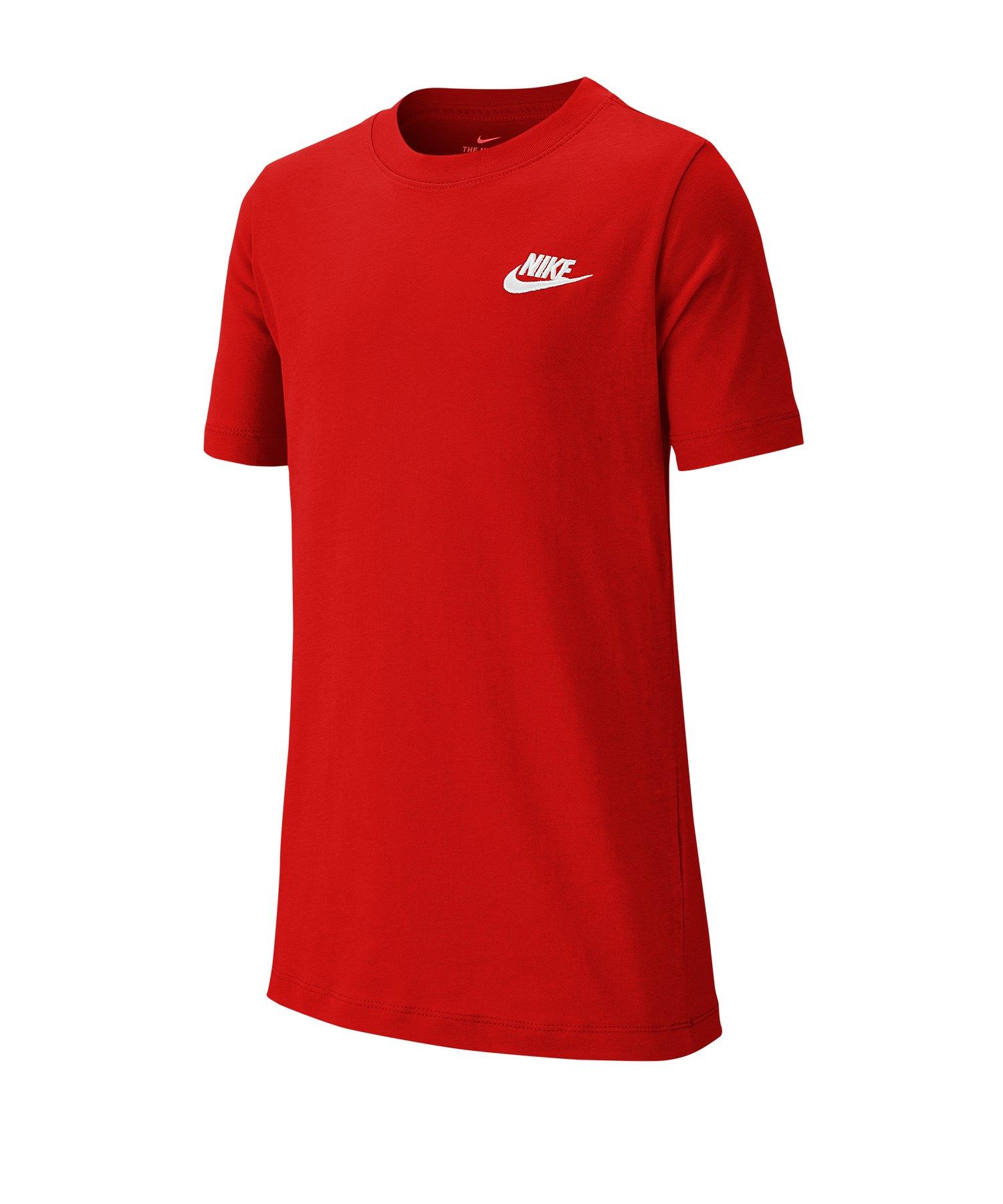 Nike Futura T-Shirt Kids Rot F657 - rot