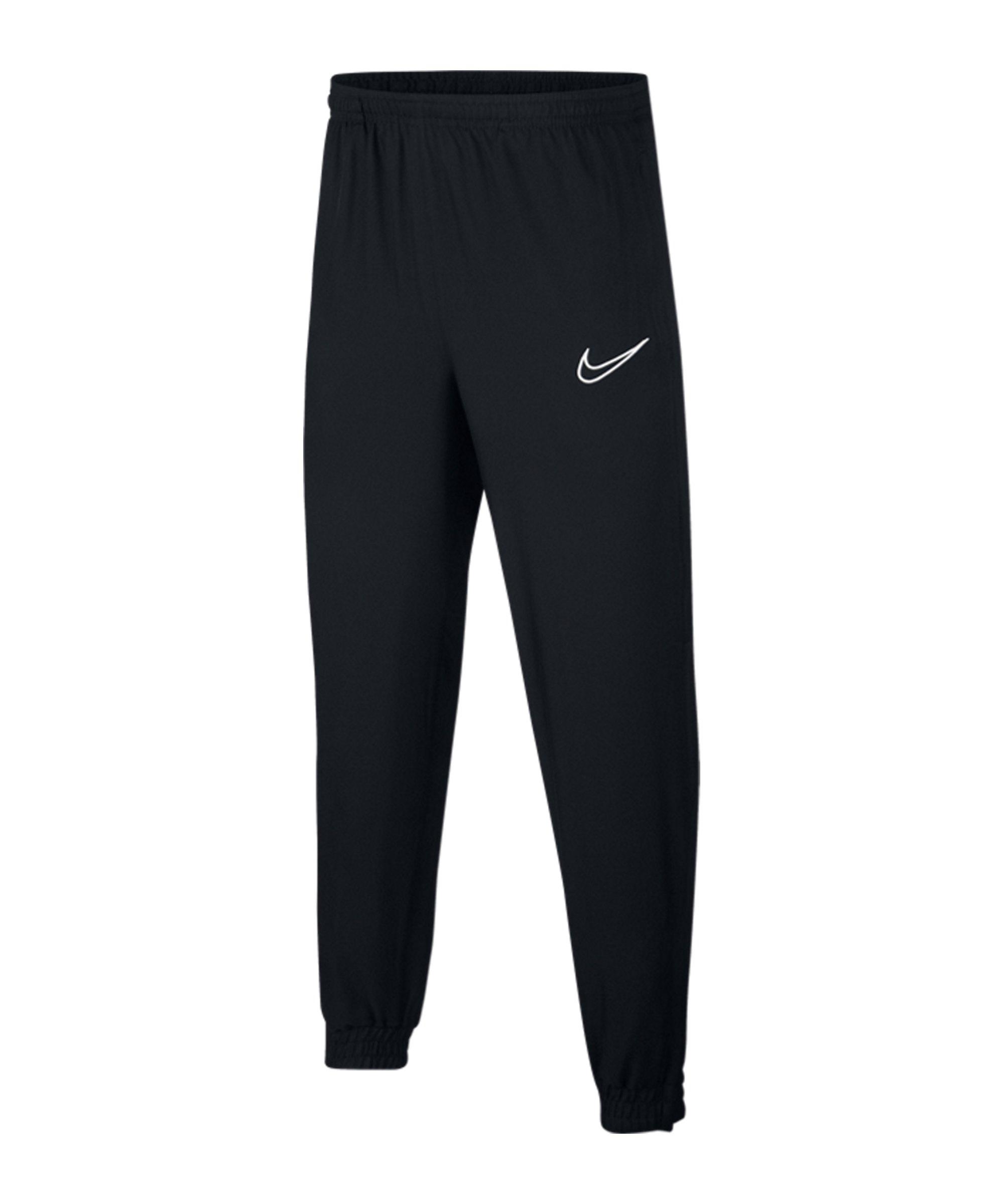 Nike Academy Trainingshose Kids Schwarz Weiss F014 - schwarz