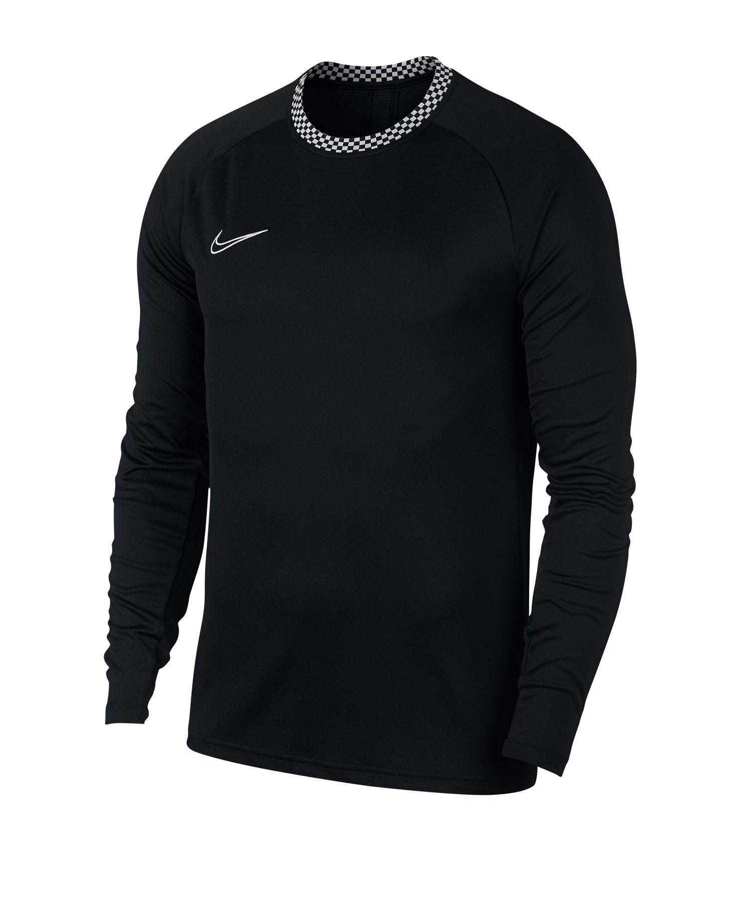 Nike Dri-FIT Academy Sweatshirt Schwarz F010 - Schwarz