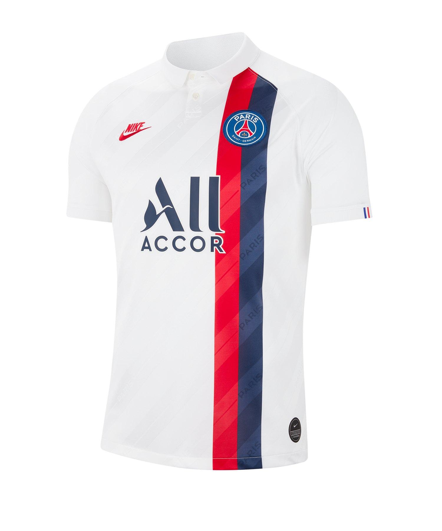 Nike Paris St. Germain Trikot UCL 2019/2020 F102 - weiss