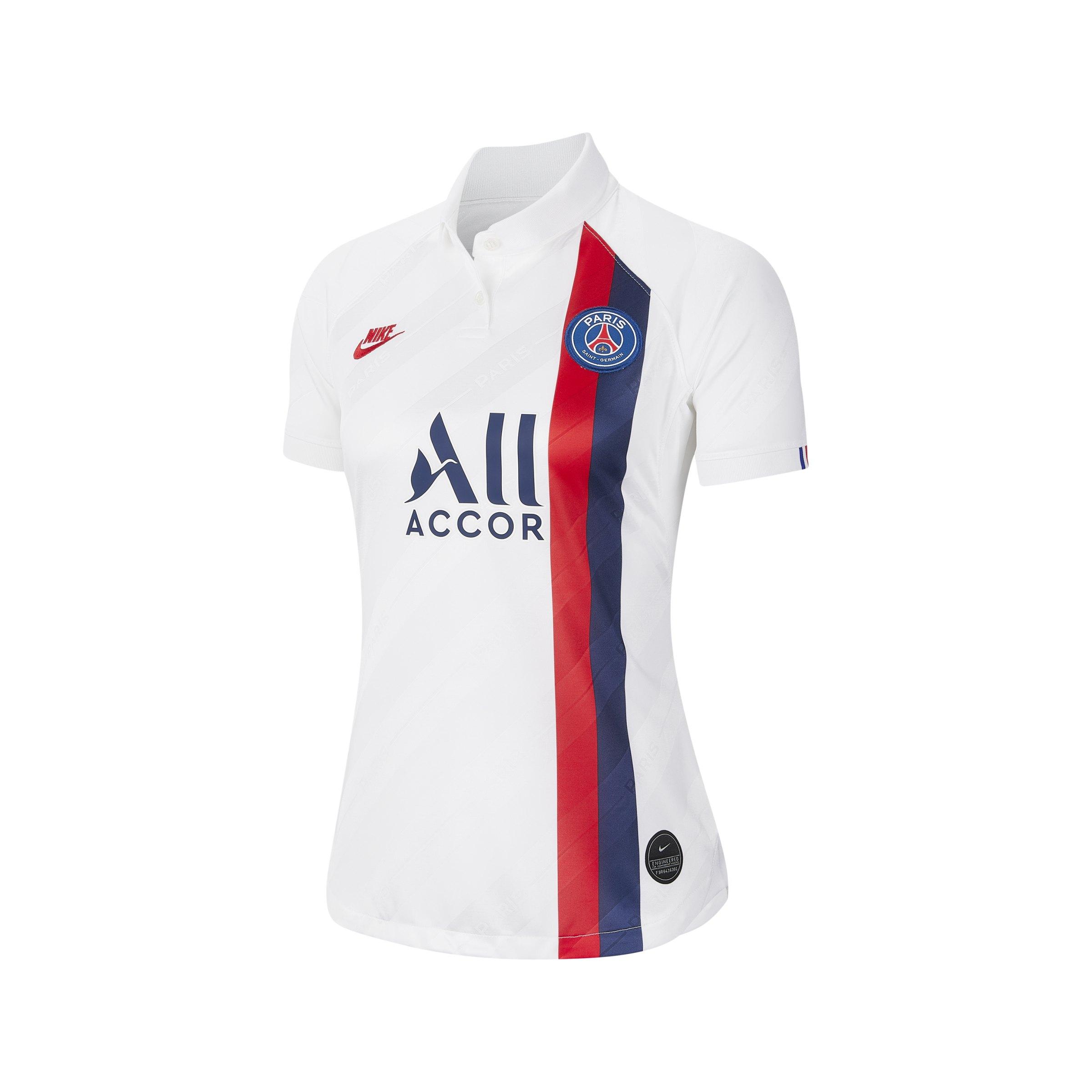 Nike Paris St. Germain Trikot UCL 2019/2020 Damen F102 - weiss