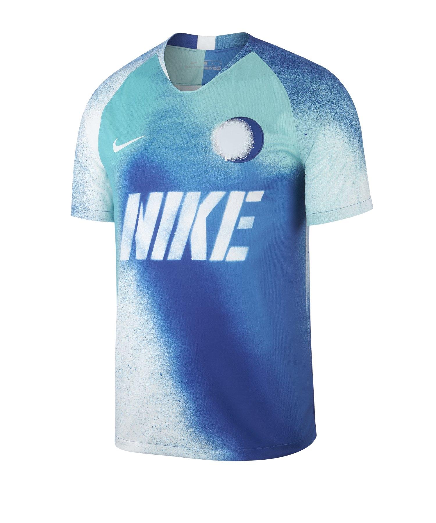 Nike Dry Strike Spray Trikot kurzarm Blau F480 - Blau