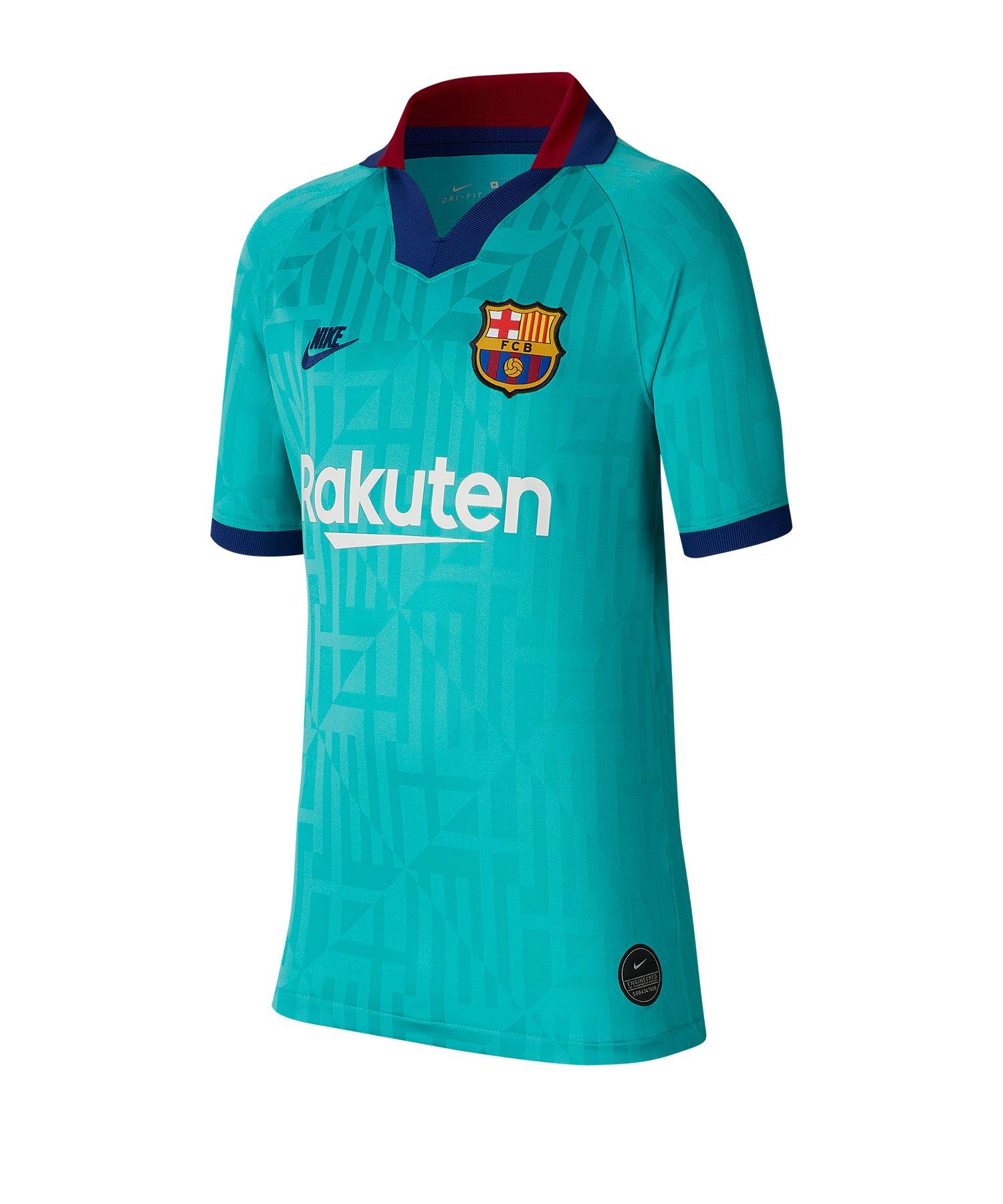 Nike FC Barcelona Trikot UCL 2019/2020 Kids F310 - blau