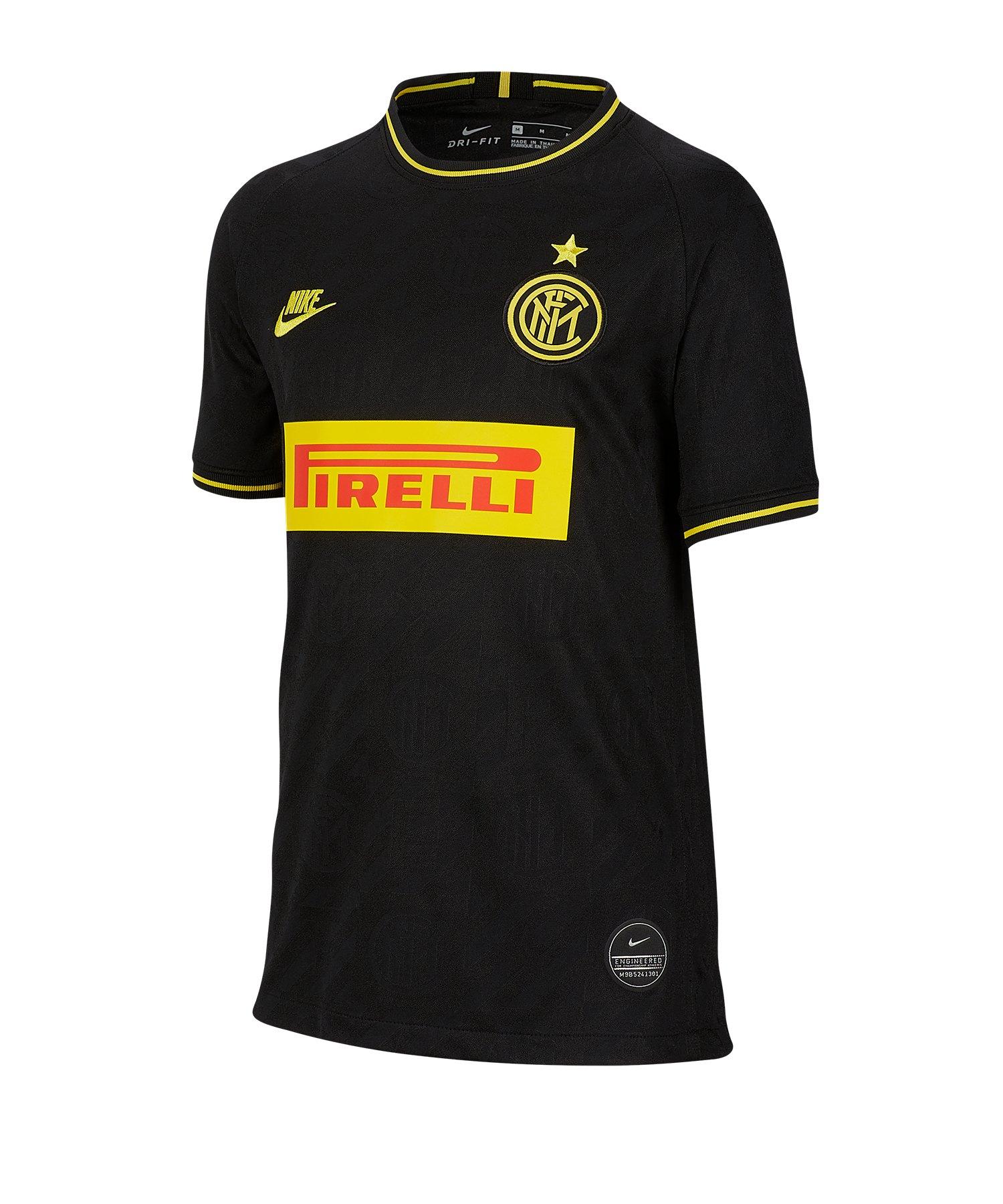 Nike Inter Mailand Trikot UCL 2019/2020 Kids F011 - schwarz